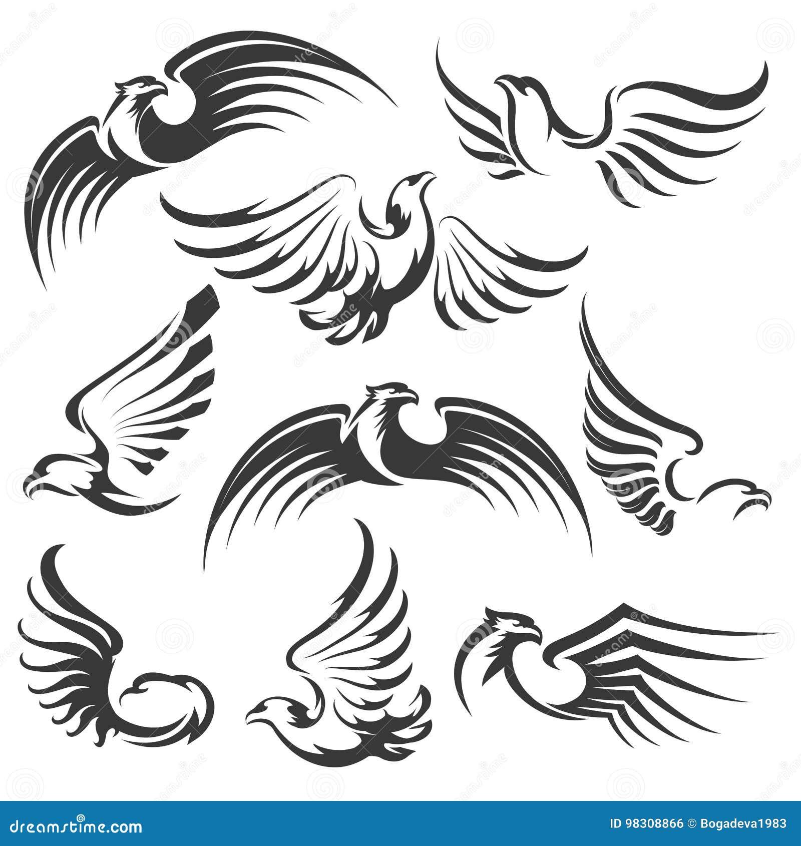 Σύνολο εικονιδίων αετών