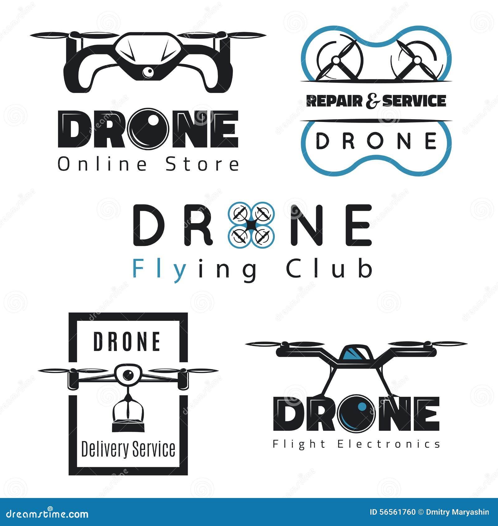 Σύνολο εμβλημάτων quadrocopter