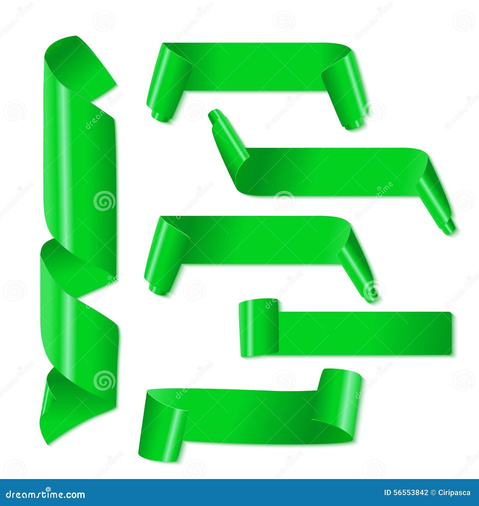 Download Σύνολο κορδελλών Πράσινης Βίβλου στο άσπρο υπόβαθρο Διανυσματική απεικόνιση - εικονογραφία από ετικέτα, κάρτα: 56553842