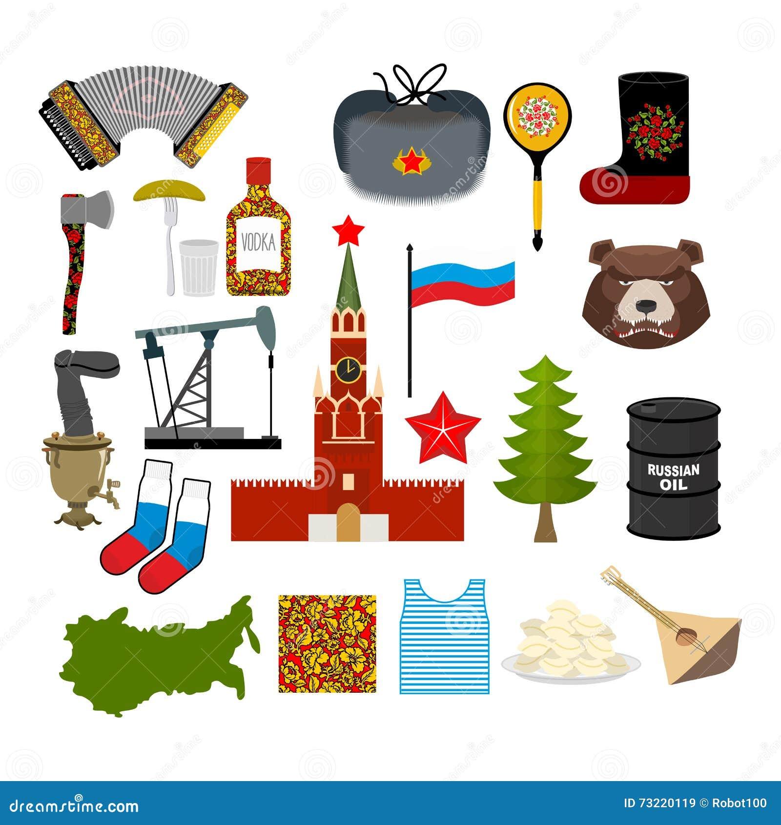 Σύνολο συμβόλων της Ρωσίας Ρωσικός εθνικός χαρακτήρας Κράτος παραδοσιακό