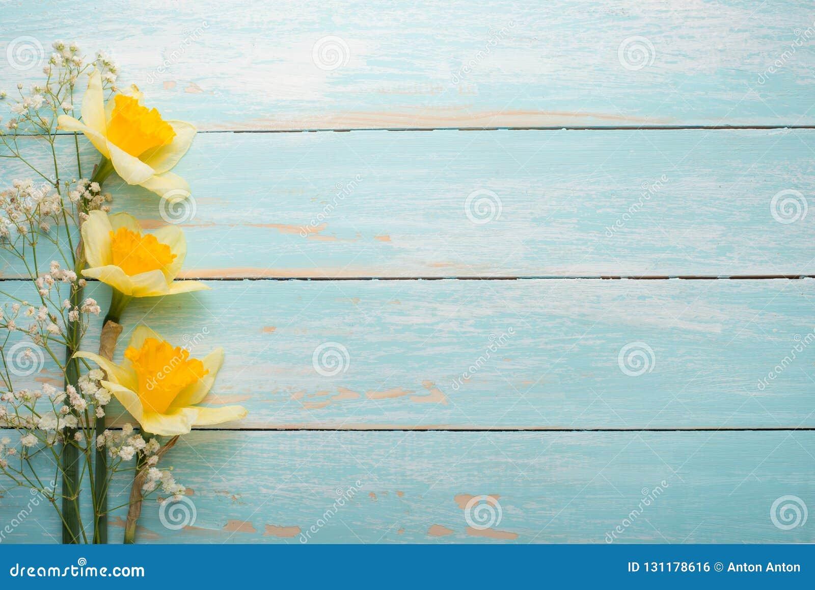 Σύσταση ενός δέντρου με τα κίτρινα λουλούδια Τοπ άποψη, με το κενό διάστημα για την επιγραφή ή τη διαφήμιση