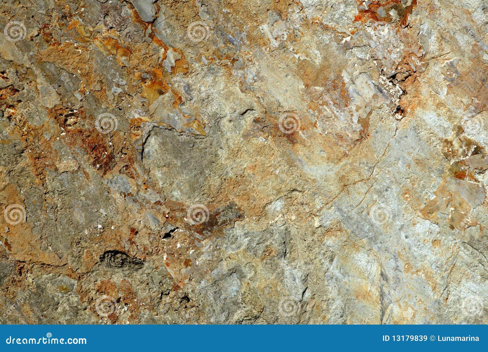 σύσταση επιφάνειας πετρών &
