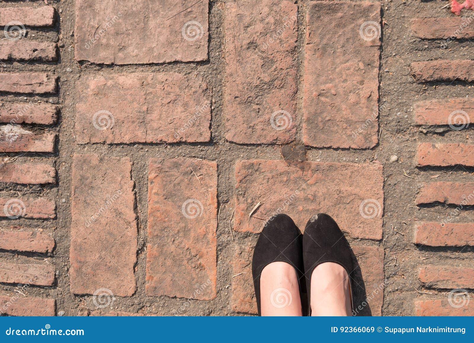 Σύσταση πατωμάτων πετρών επίστρωσης φραγμών τούβλου τετραγωνικά πόδια patio πεζοδρομίων μορφής και γυναικών ` s