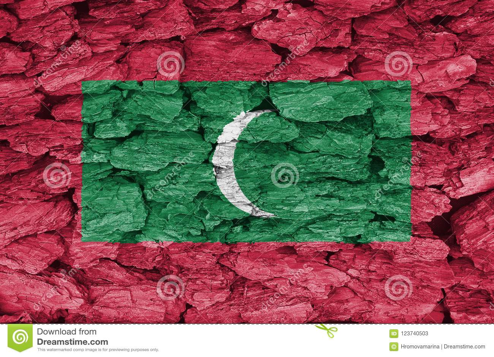 Σύσταση της σημαίας των Μαλδίβες