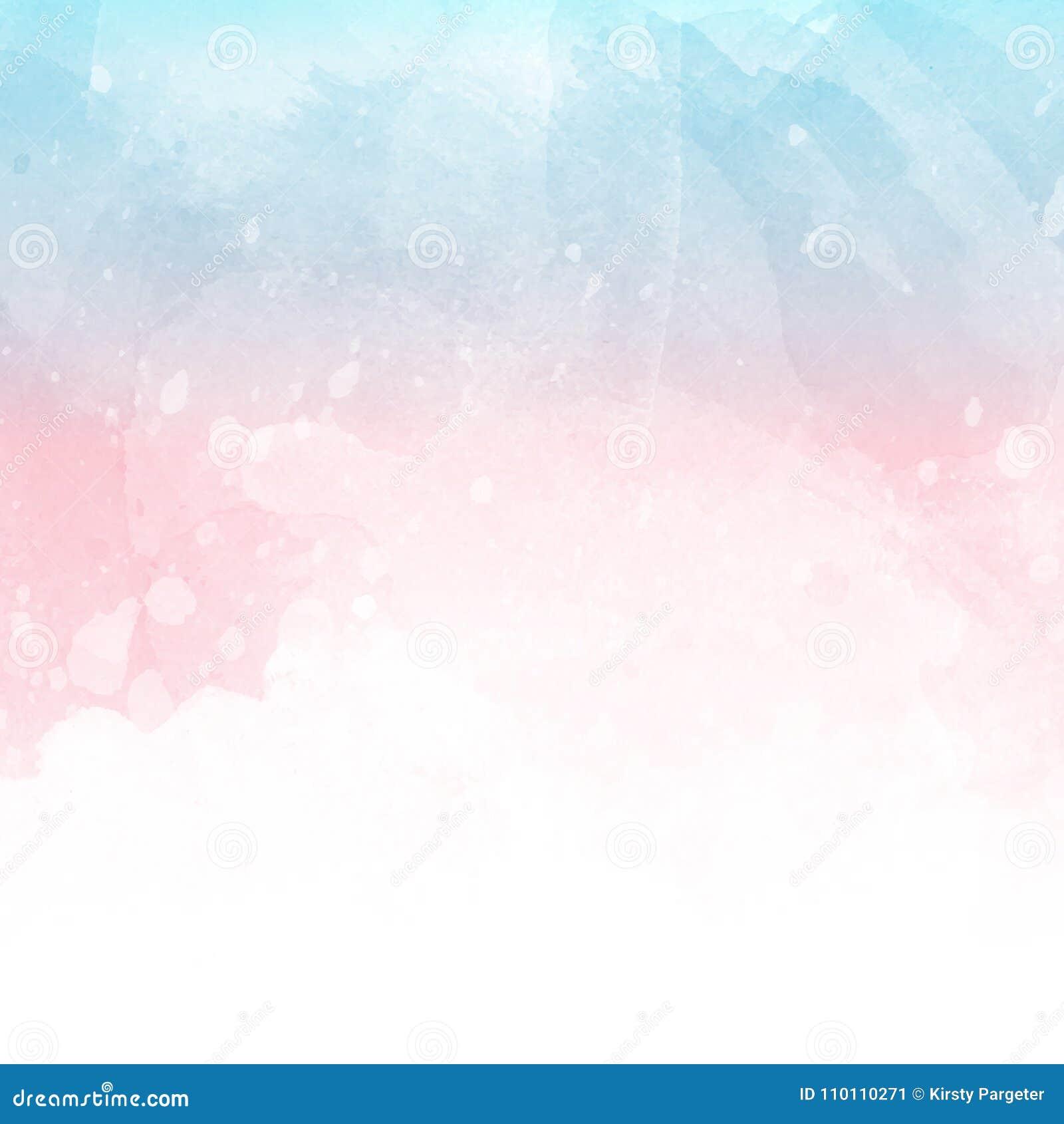 Σύσταση Watercolour με τα splats και τους λεκέδες