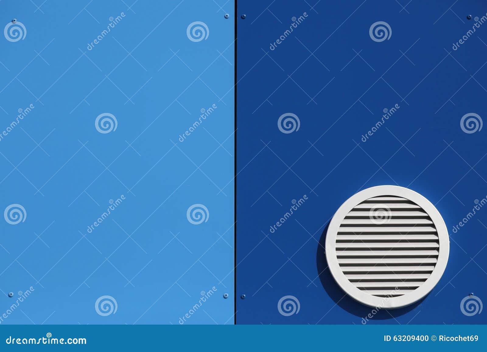 Σύστημα εξαερισμού σε έναν τοίχο