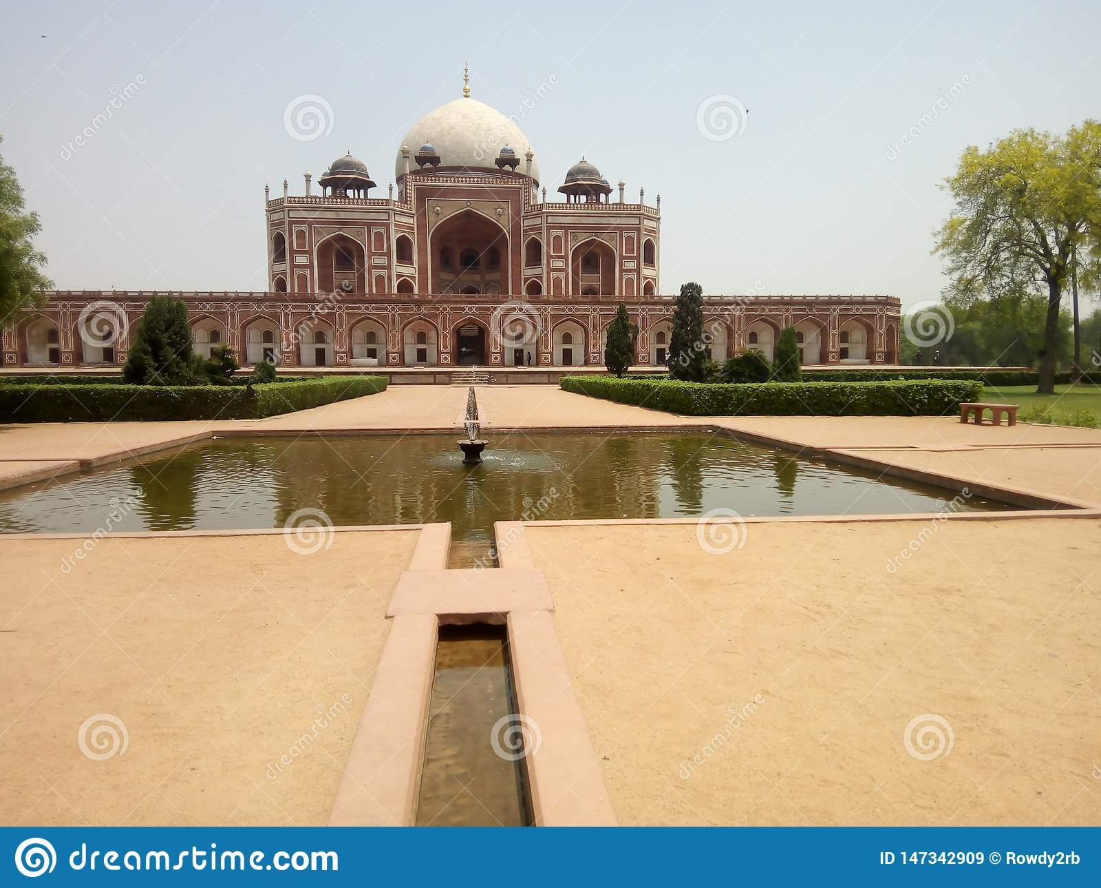 Τάφος Νέο Δελχί Humayun