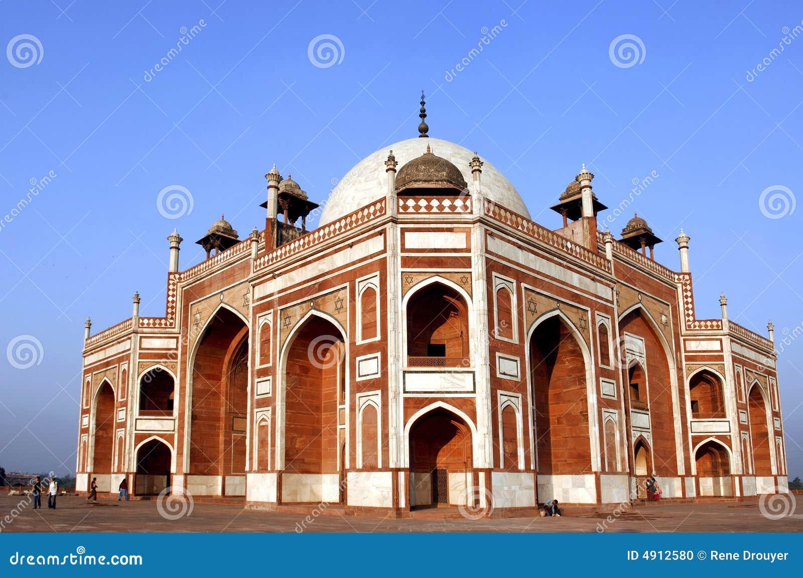τάφος του Δελχί humayun Ινδία