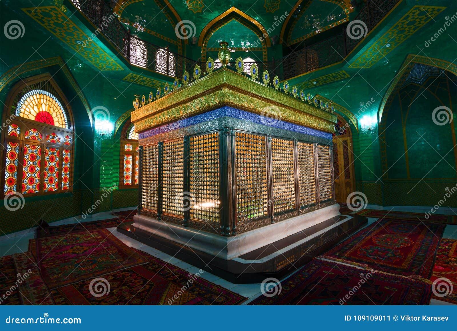 Τάφος του ukeima-Khanum στο μουσουλμανικό τέμενος bibi-Heybat Shiite baklava