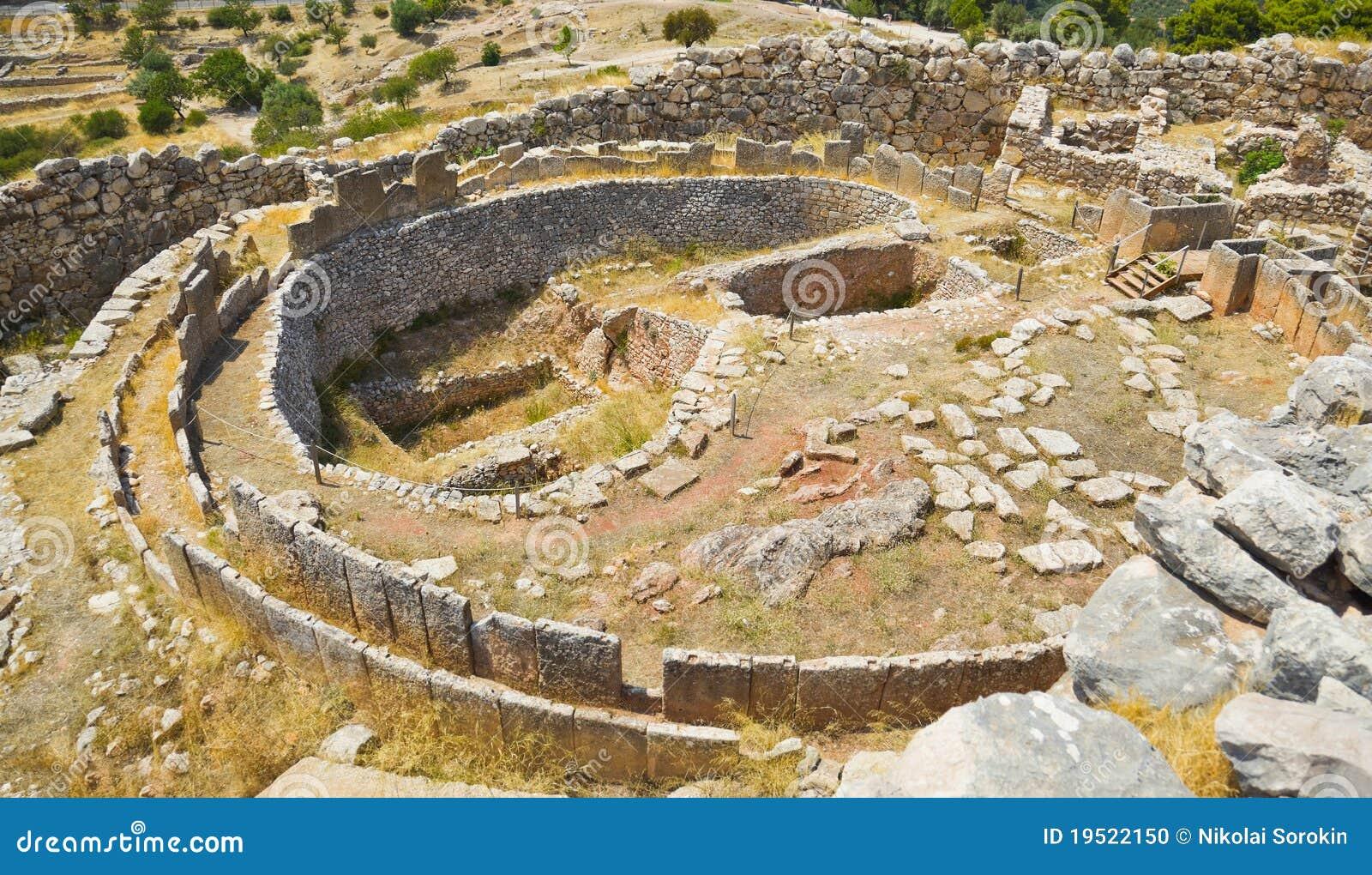 τάφος mycenae της Ελλάδας