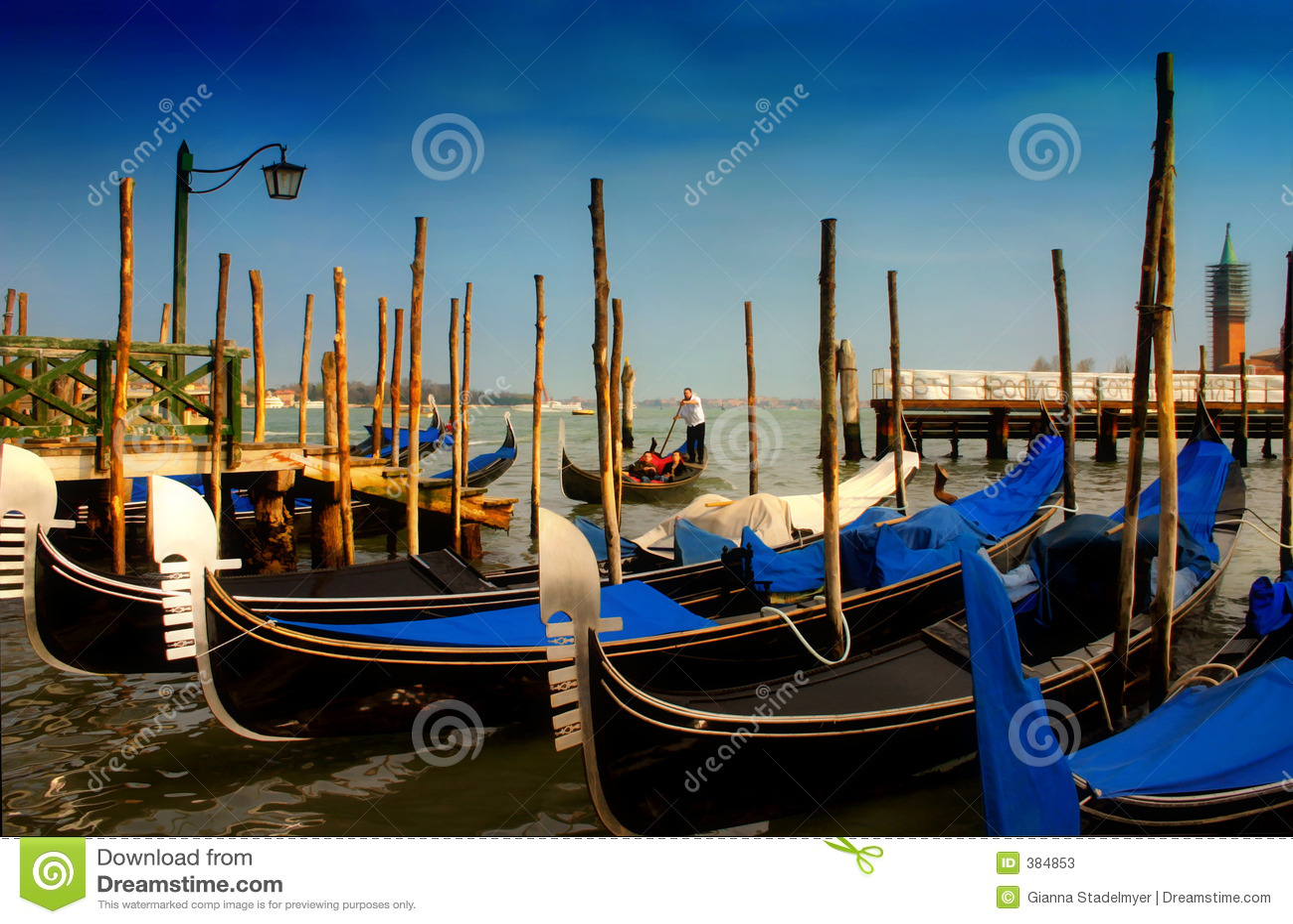 τέλος s Βενετία ημέρας