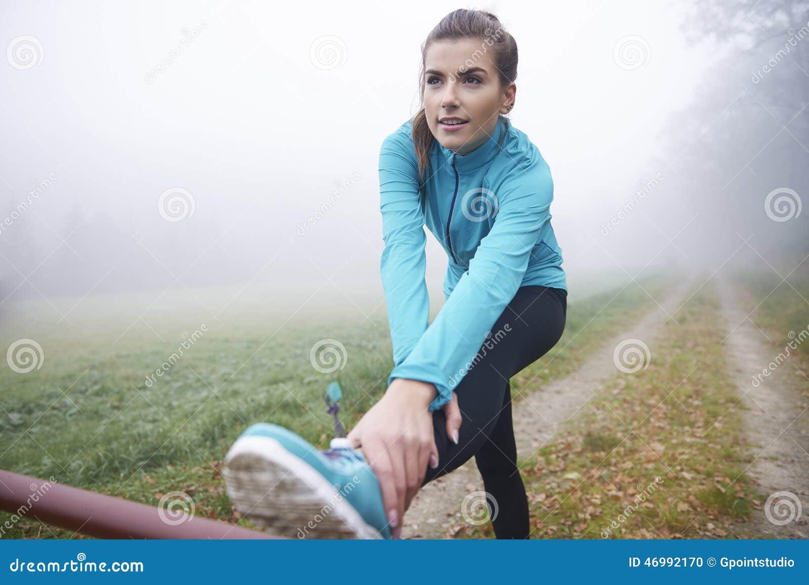 Τέντωμα πριν από το τρέξιμο