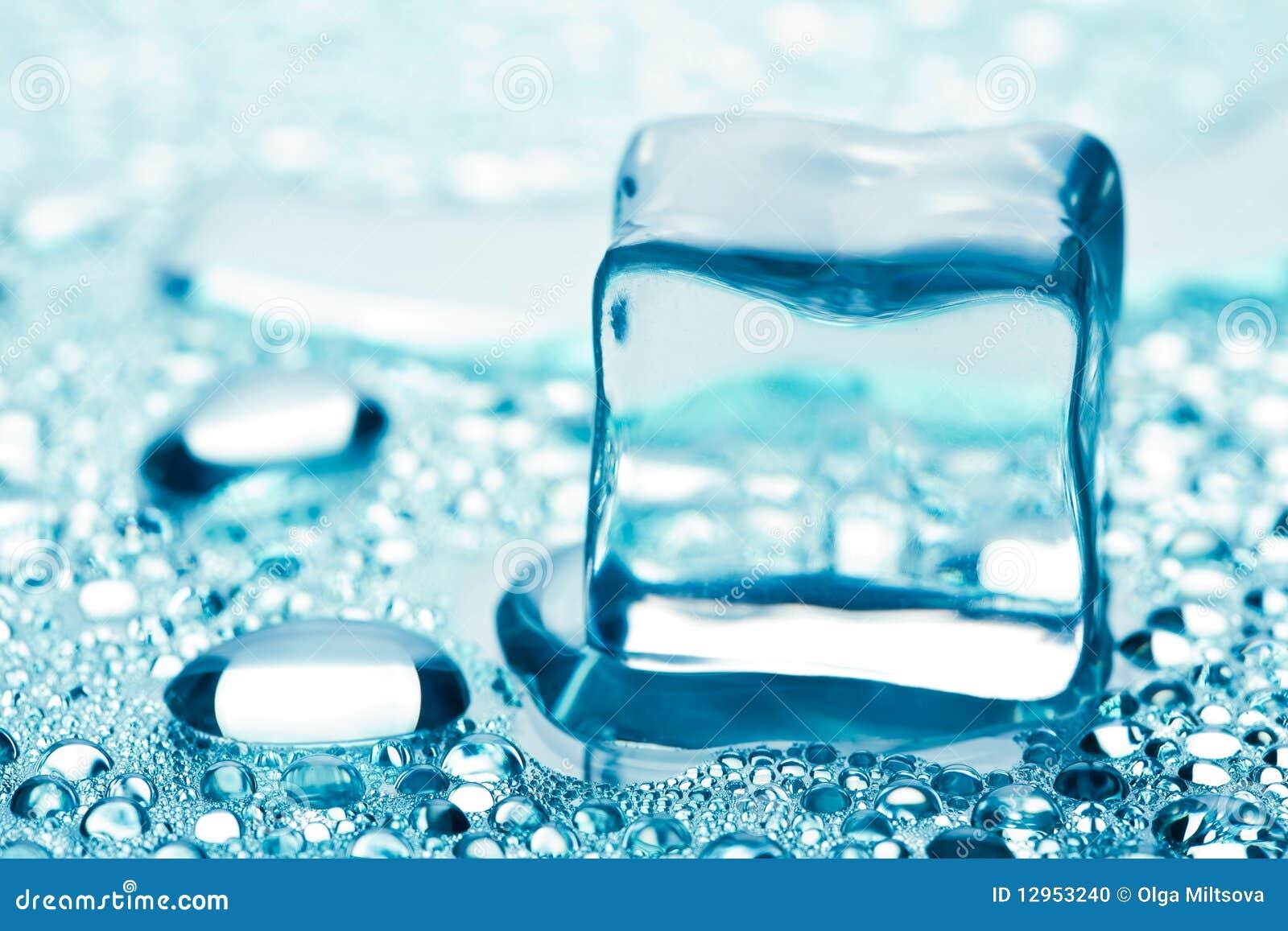 τήξη πάγου κύβων