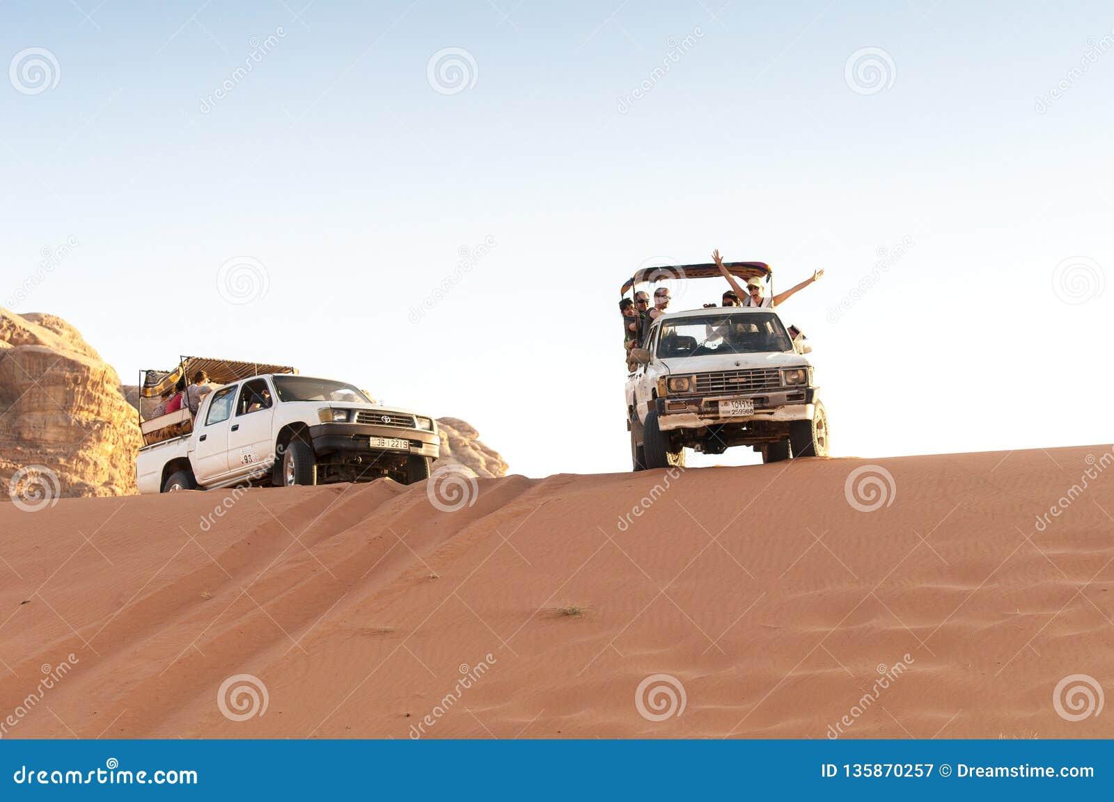 Ταξίδι άμμου Jordania