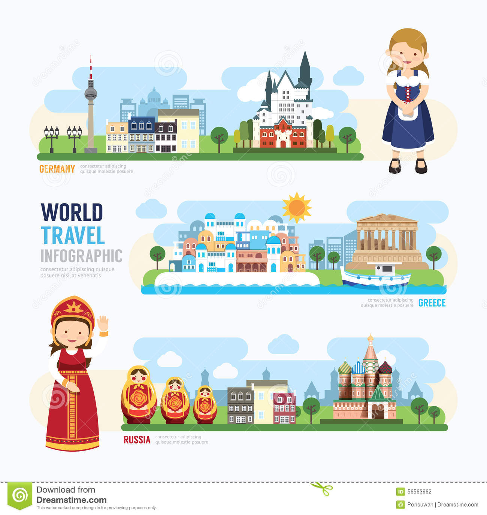Download Ταξίδι και υπαίθριο σχέδιο Infographic προτύπων ορόσημων της Ευρώπης Διανυσματική απεικόνιση - εικονογραφία από χάρτης, υπαίθριος: 56563962