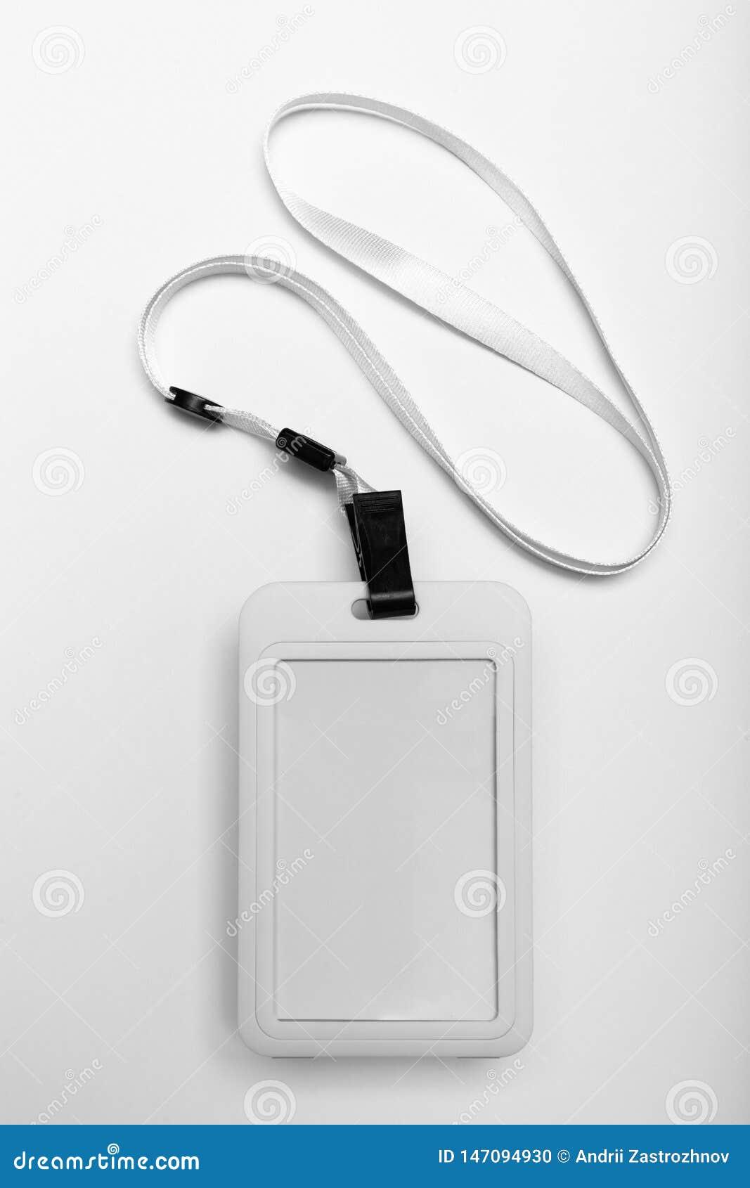 Ταυτότητα κορδονιών διακριτικών, κενό πέρασμα προσδιορισμού Προσωπική πλαστική κάρτα Επιχειρησιακή έγκριση