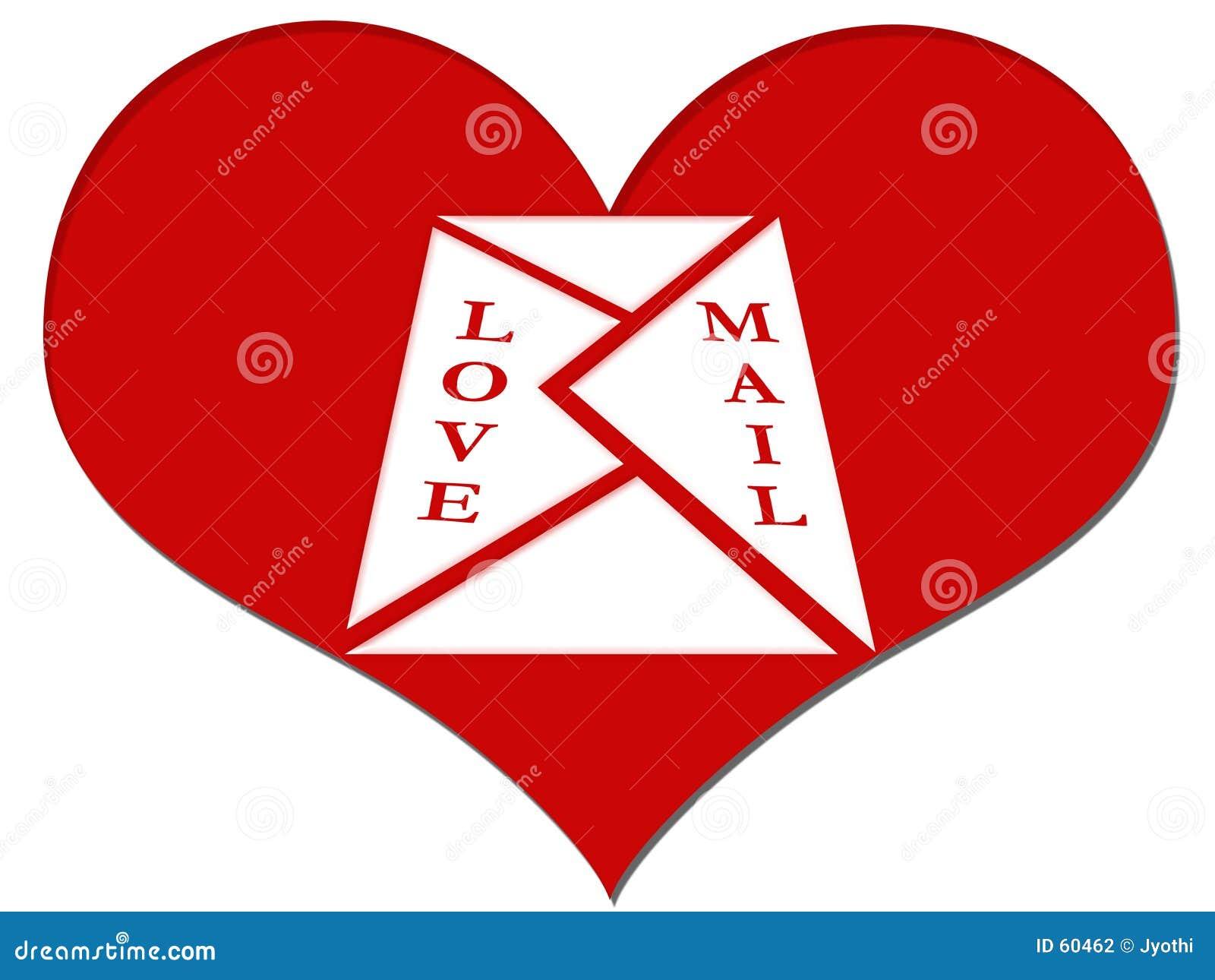 Download ταχυδρομείο αγάπης απεικόνιση αποθεμάτων. εικονογραφία από λέξη - 60462