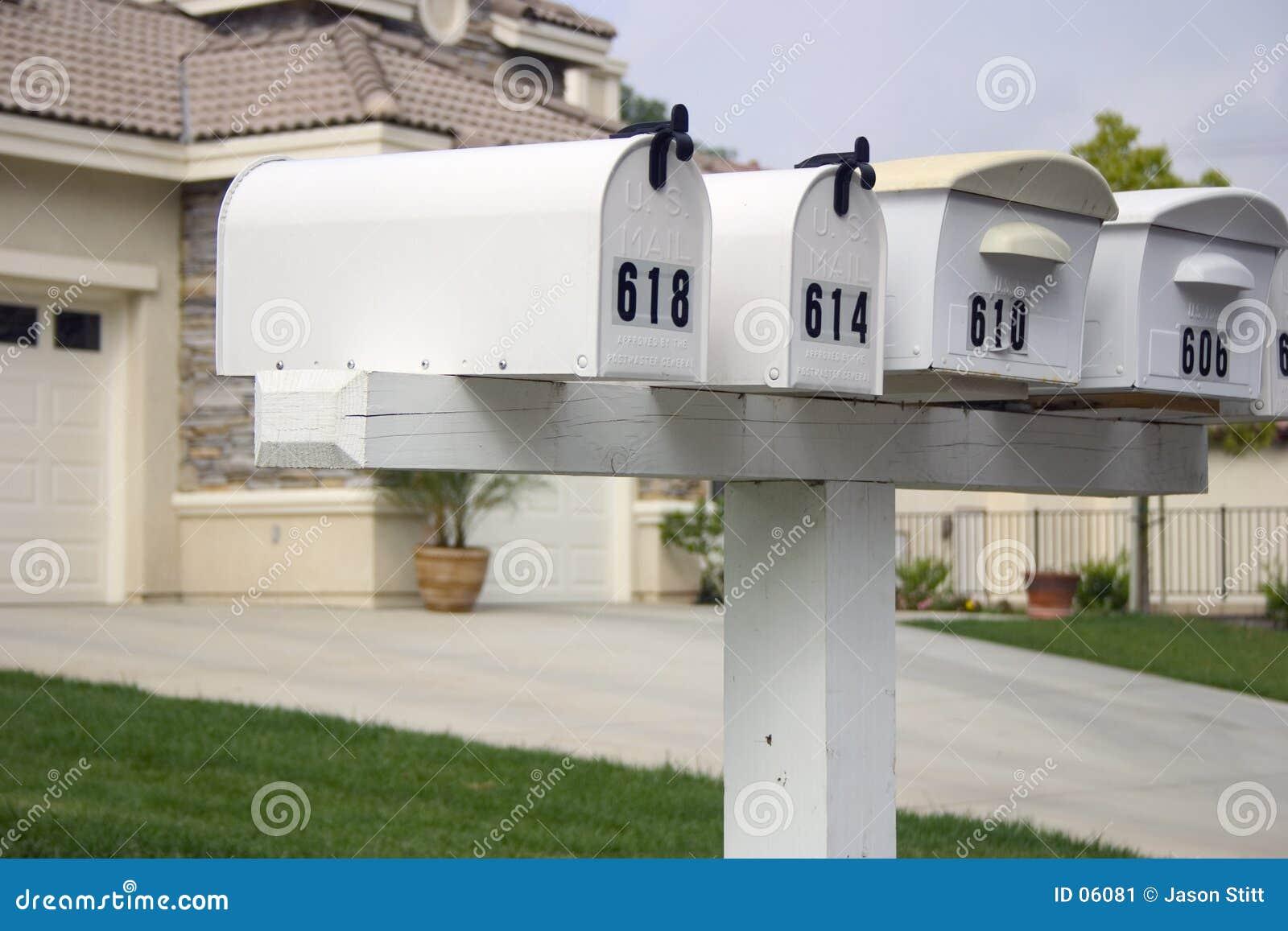 ταχυδρομικές θυρίδες
