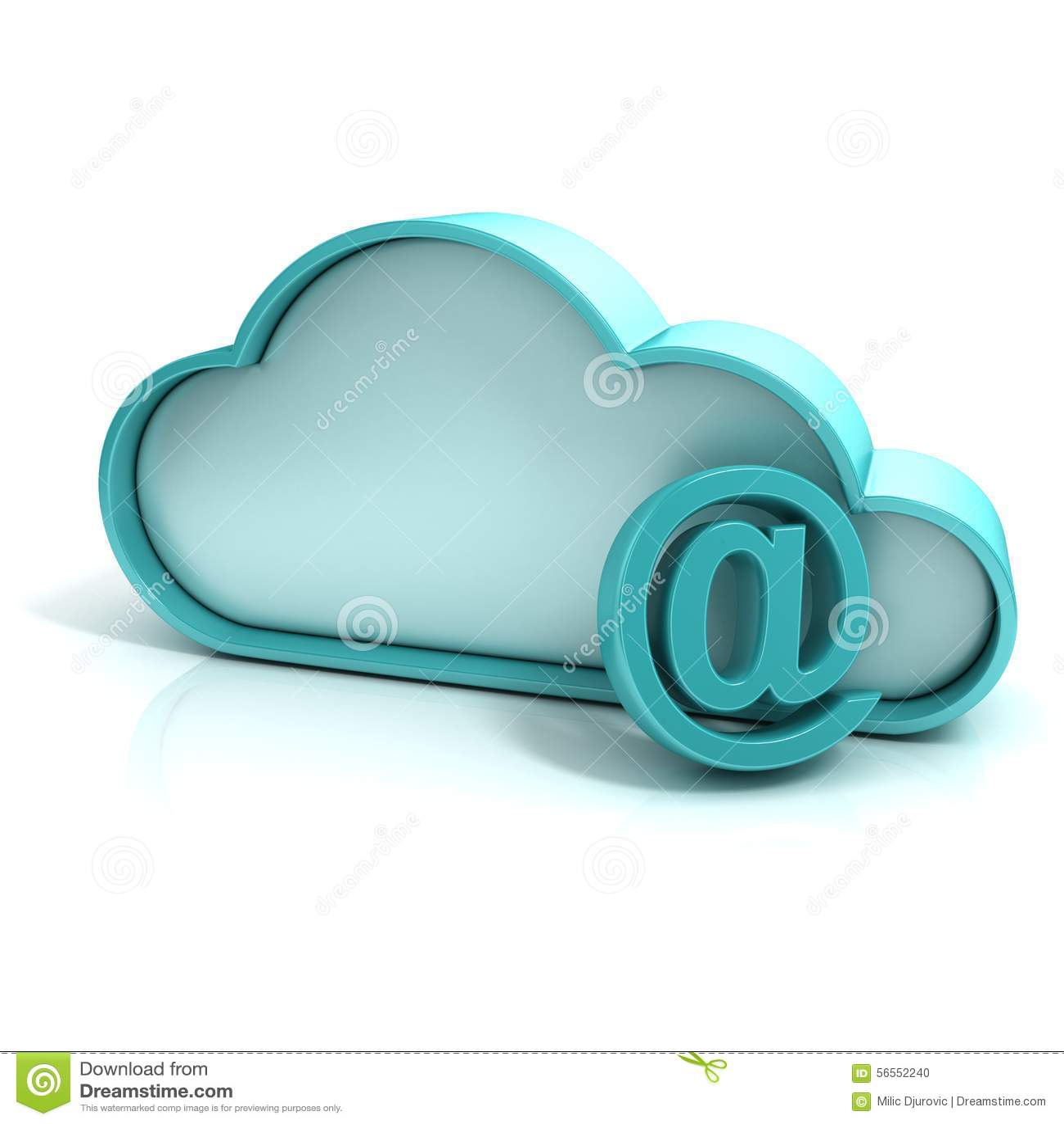 Download Ταχυδρομείο σύννεφων απεικόνιση αποθεμάτων. εικονογραφία από mailbox - 56552240