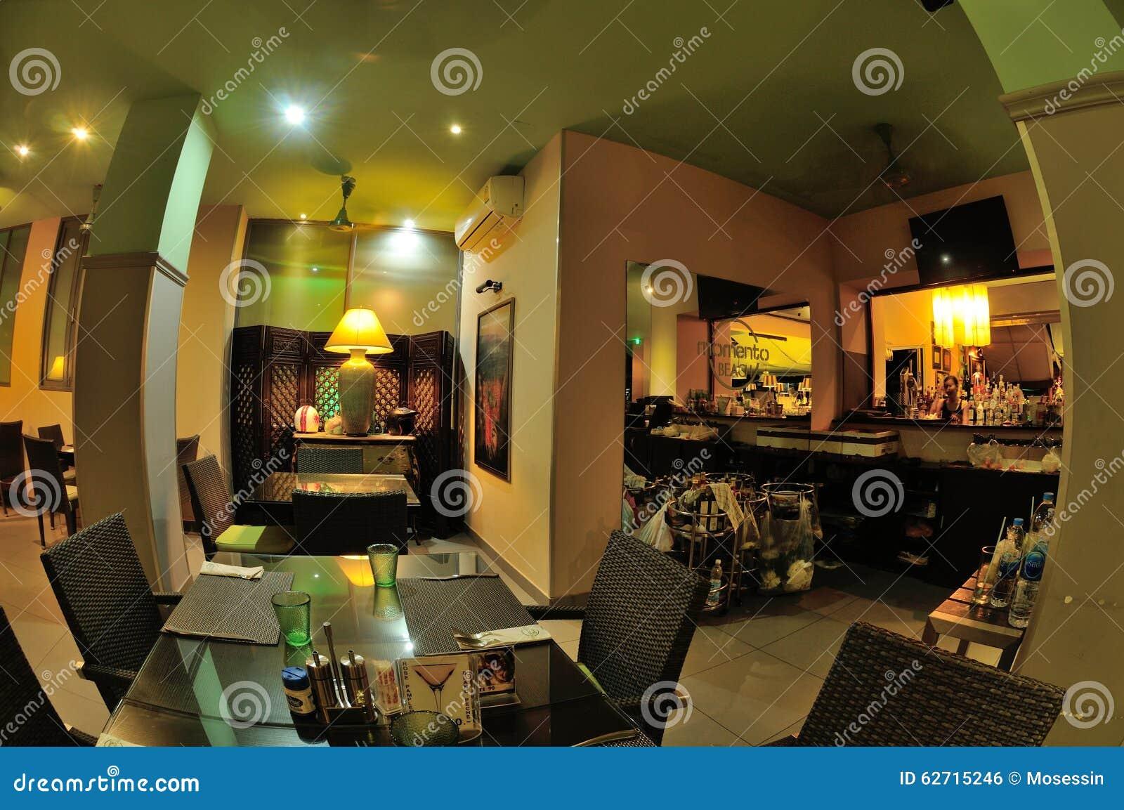 Ταϊλανδικό εσωτερικό σχέδιο εστιατορίων