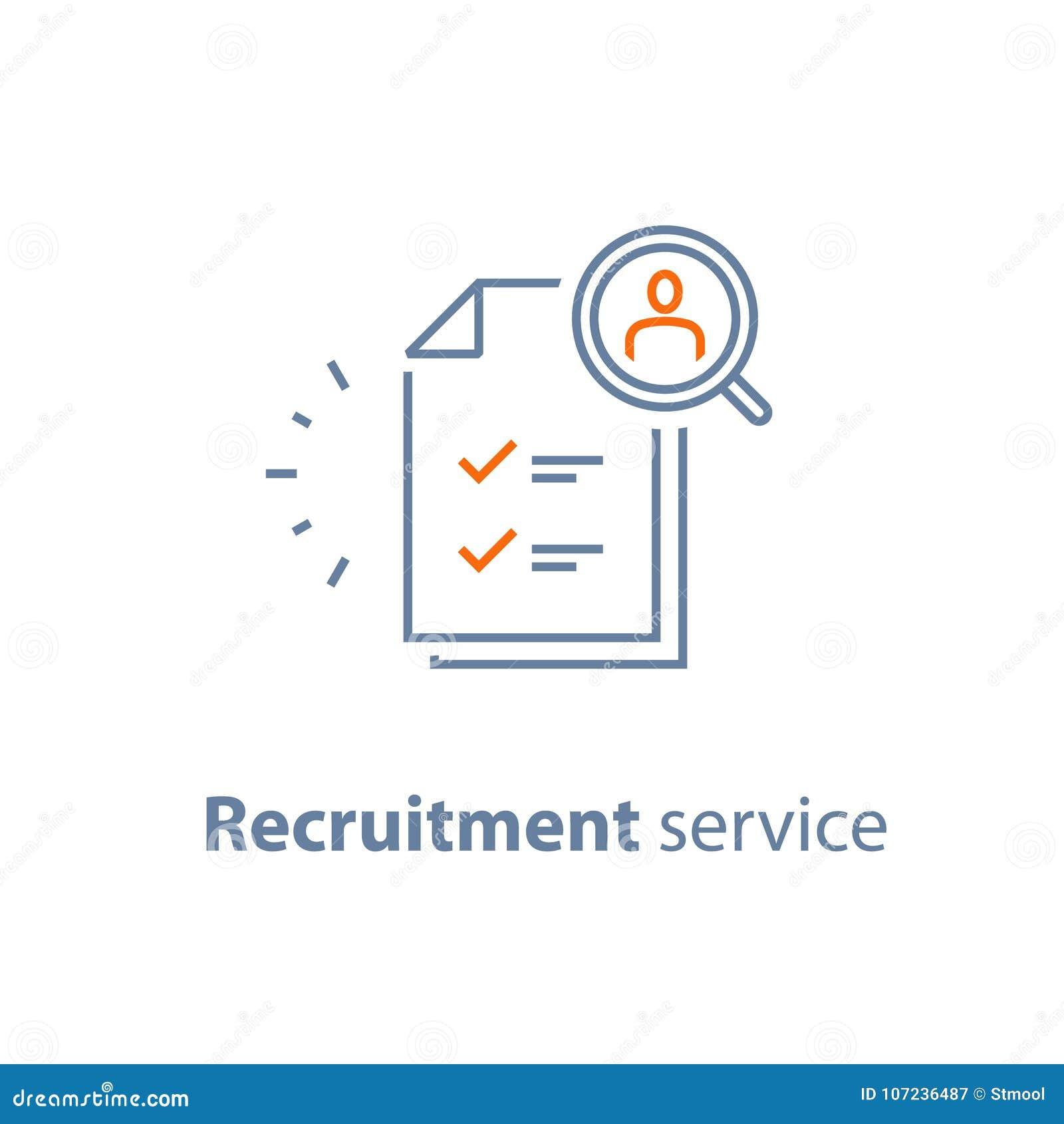 Τα ανθρώπινα δυναμικά, επιλέγουν τον υποψήφιο, υπηρεσία πρόσληψης, γεμίζουν το κενό, έννοια απασχόλησης, αναθεώρηση αίτησης υποψη