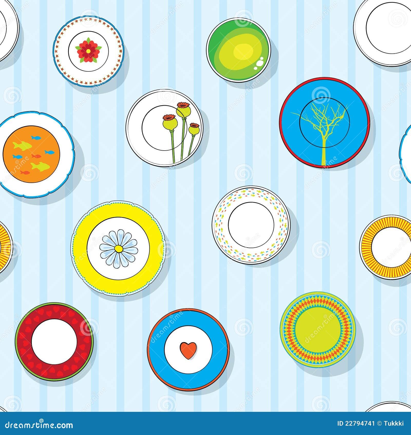 τα διακοσμητικά πιάτα που τίθενται τον τοίχο