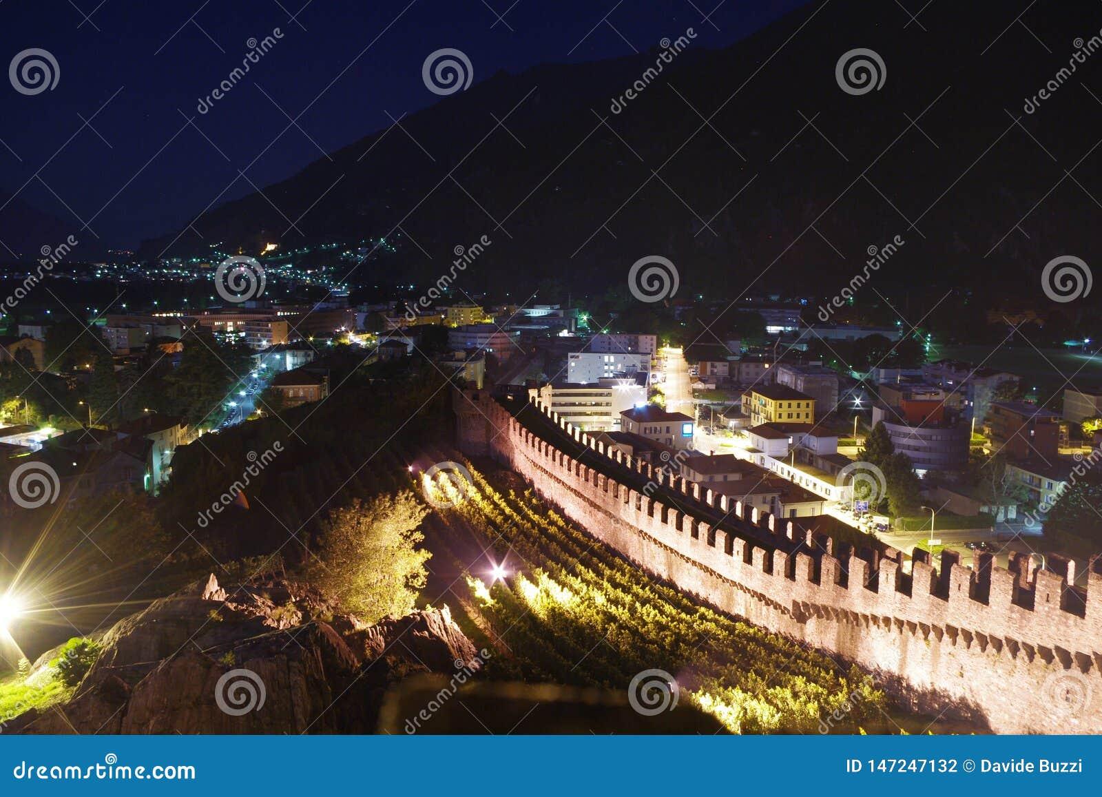 Τα κάστρα της Μπελιντζόνα, στην Ελβετία