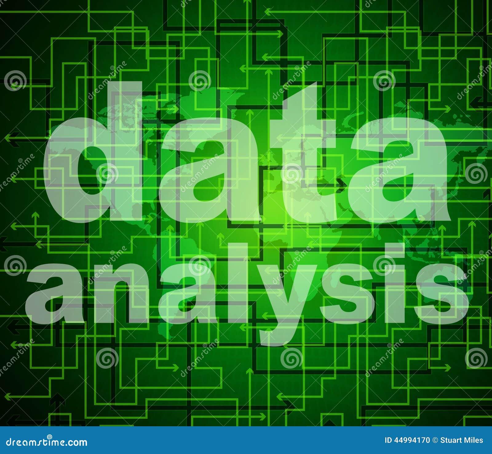 Τα μέσα ανάλυσης στοιχείων αναλύουν τις ψηφιολέξεις και ερευνούν