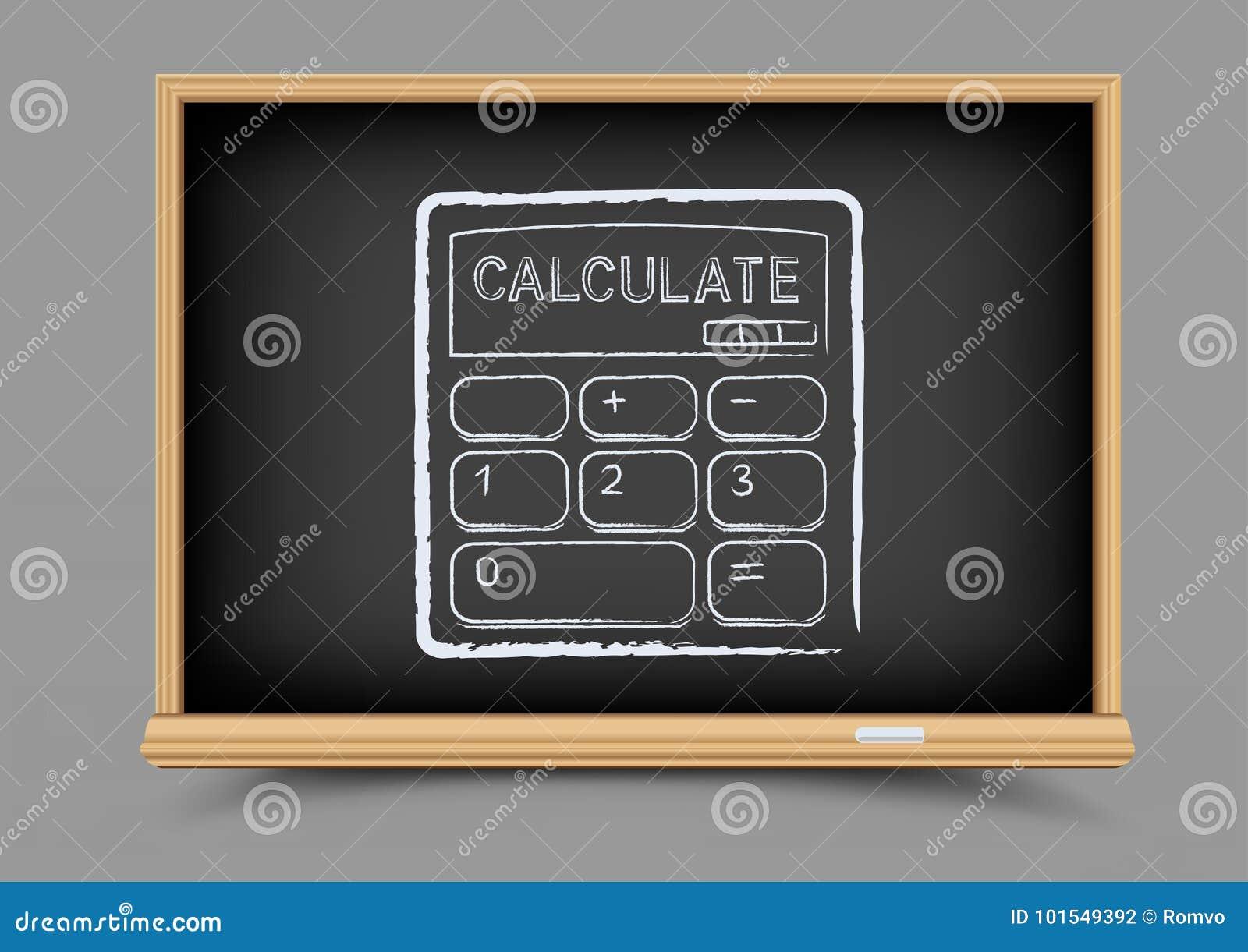 Τα μαθηματικά πινάκων υπολογίζουν το μάθημα