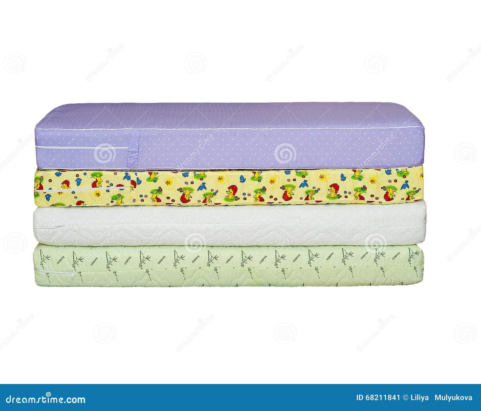 Τα στρώματα στο κρεβάτι