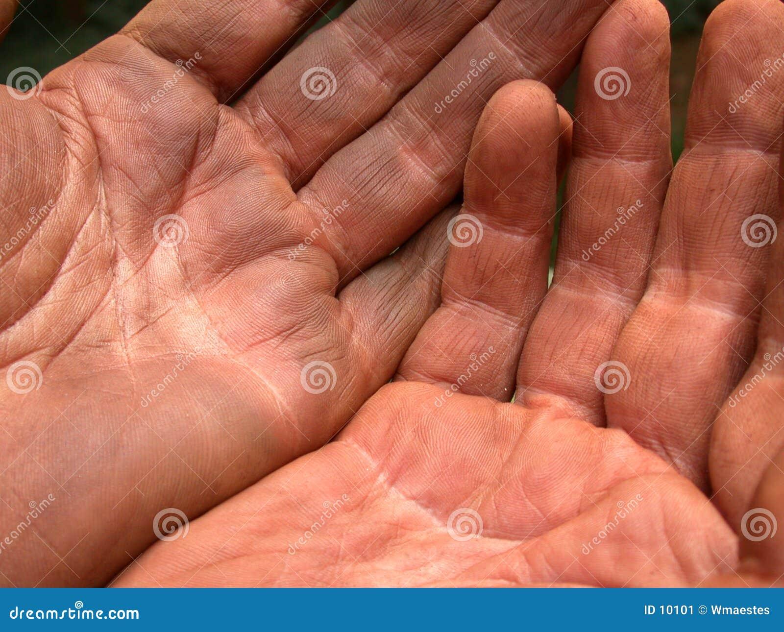 τα χέρια ι τεμπελιάζουν