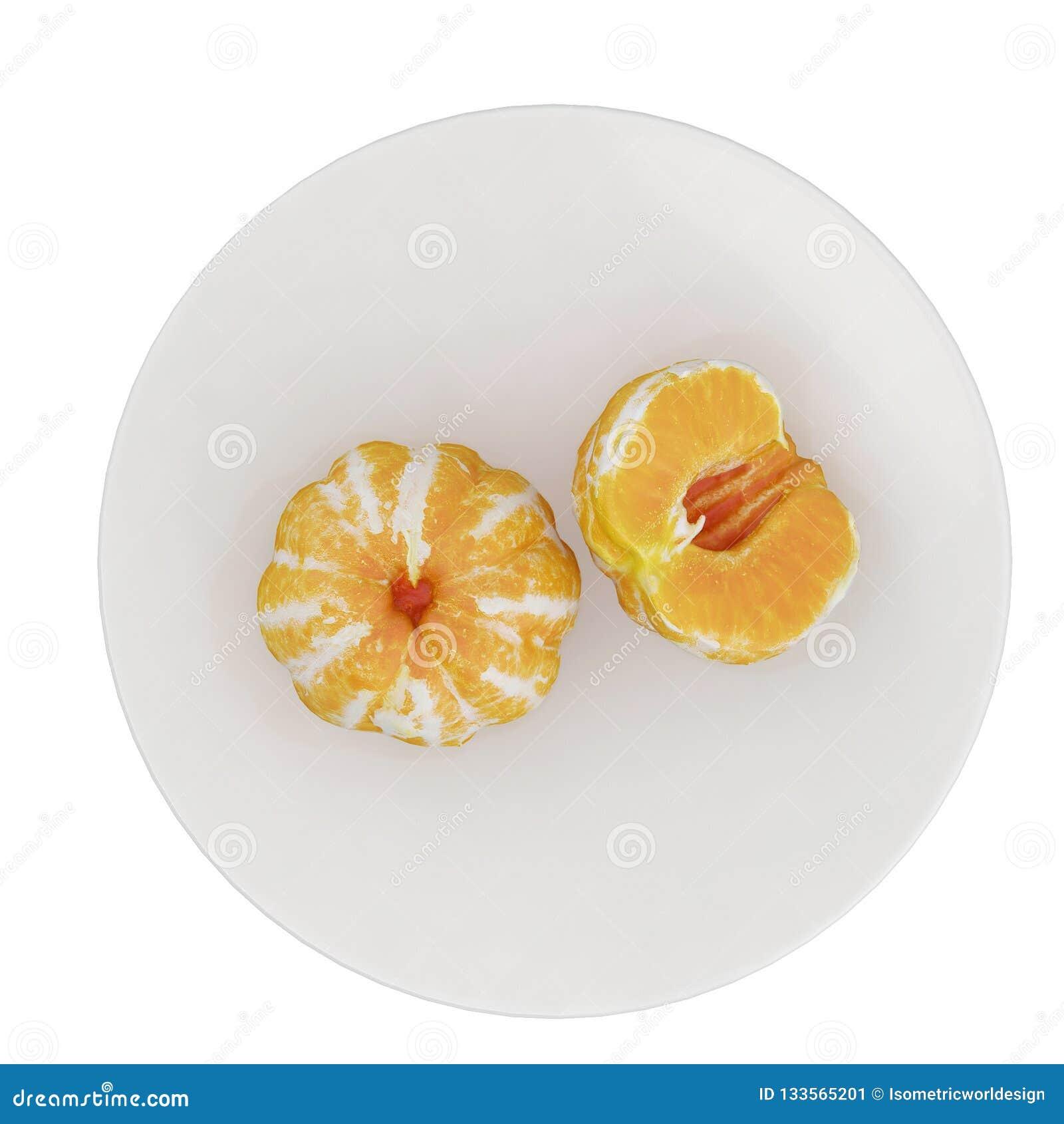 Τα Isometric φρούτα τρισδιάστατα δίνουν