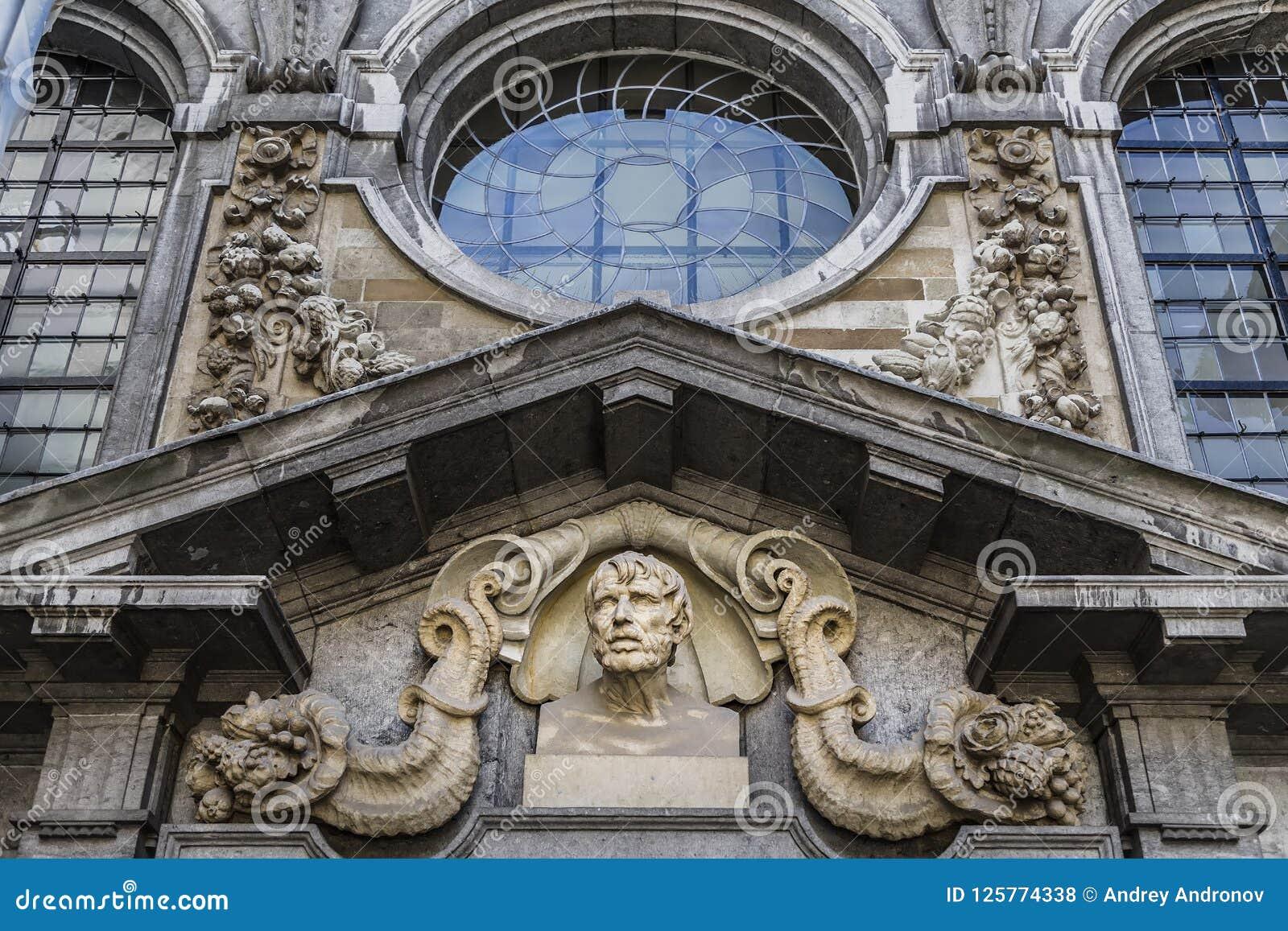 Τεμάχιο της πρόσοψης του σπιτιού Rubens