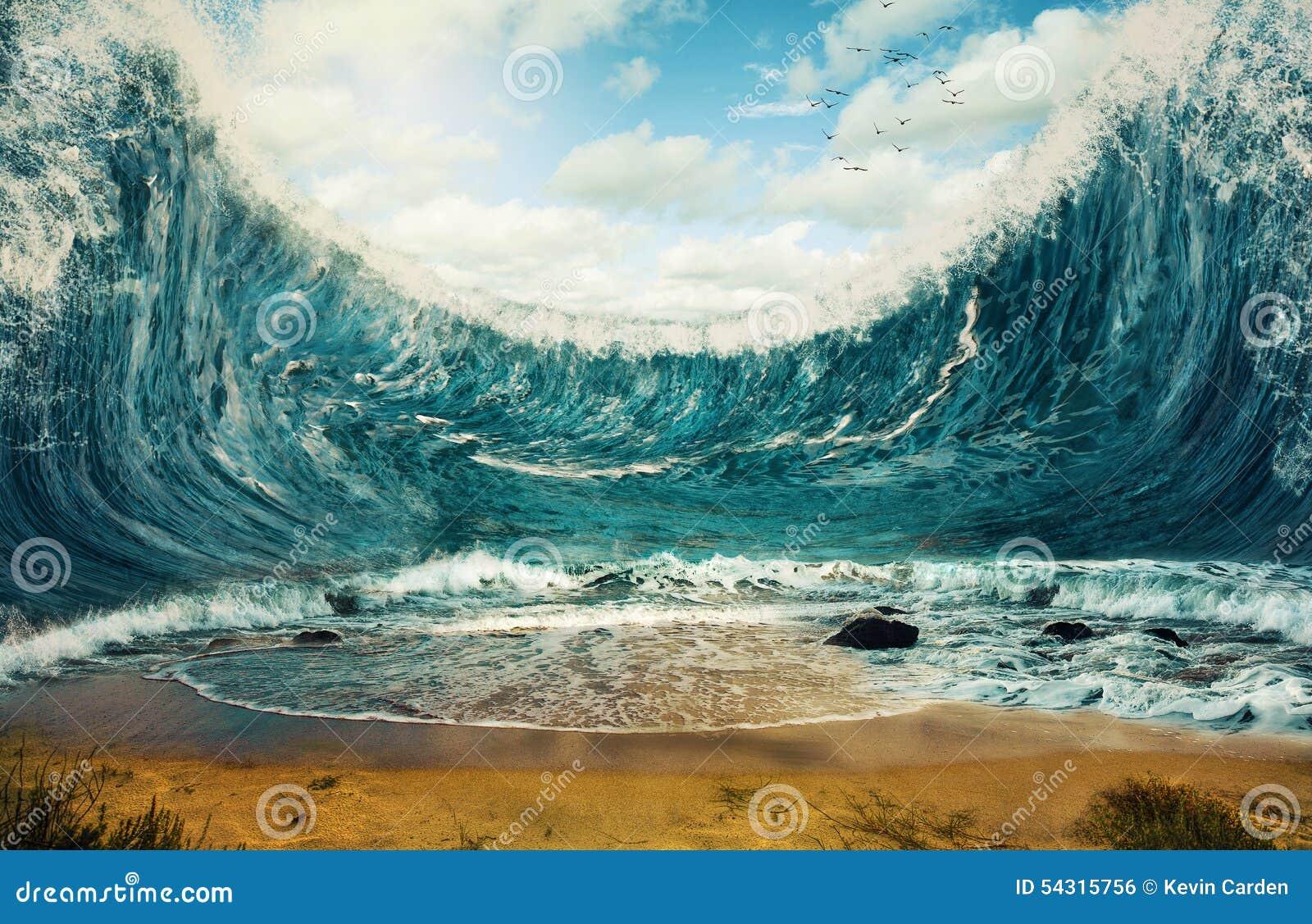 τεράστια κύματα