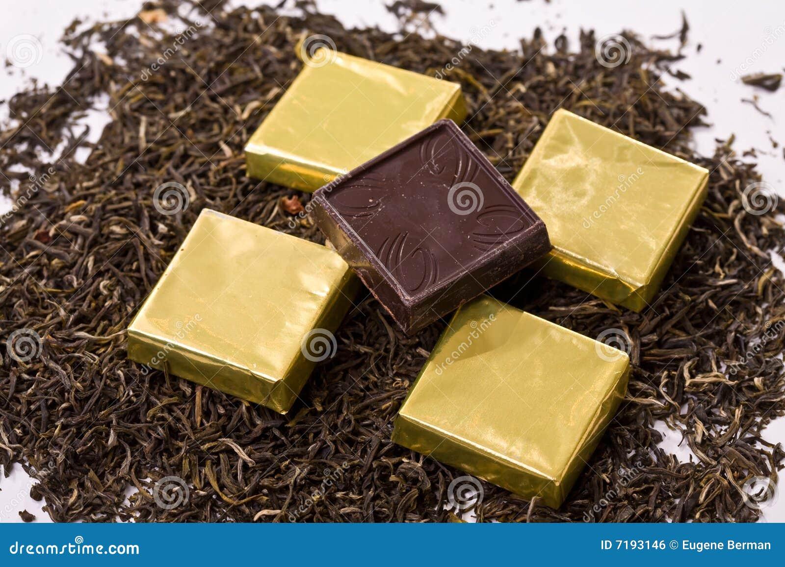τετράγωνα σοκολάτας