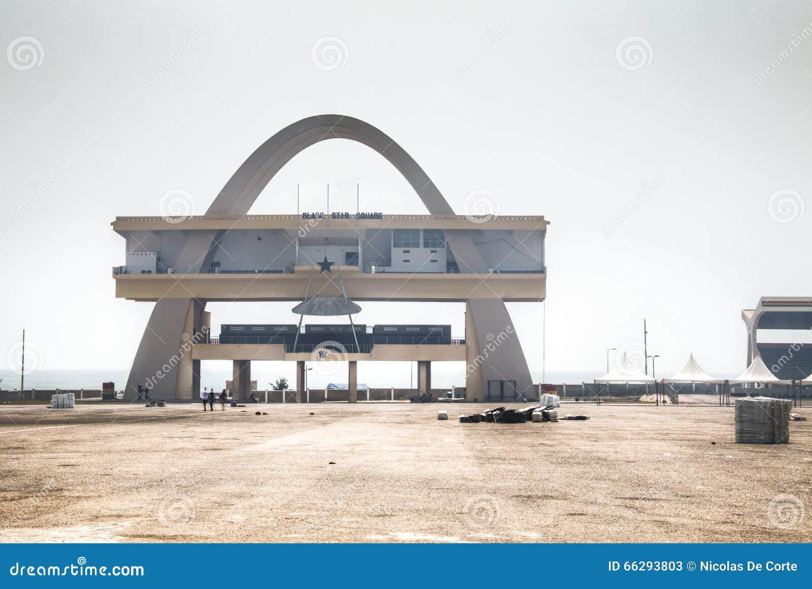 Τετράγωνο ανεξαρτησίας στην Άκρα, Γκάνα