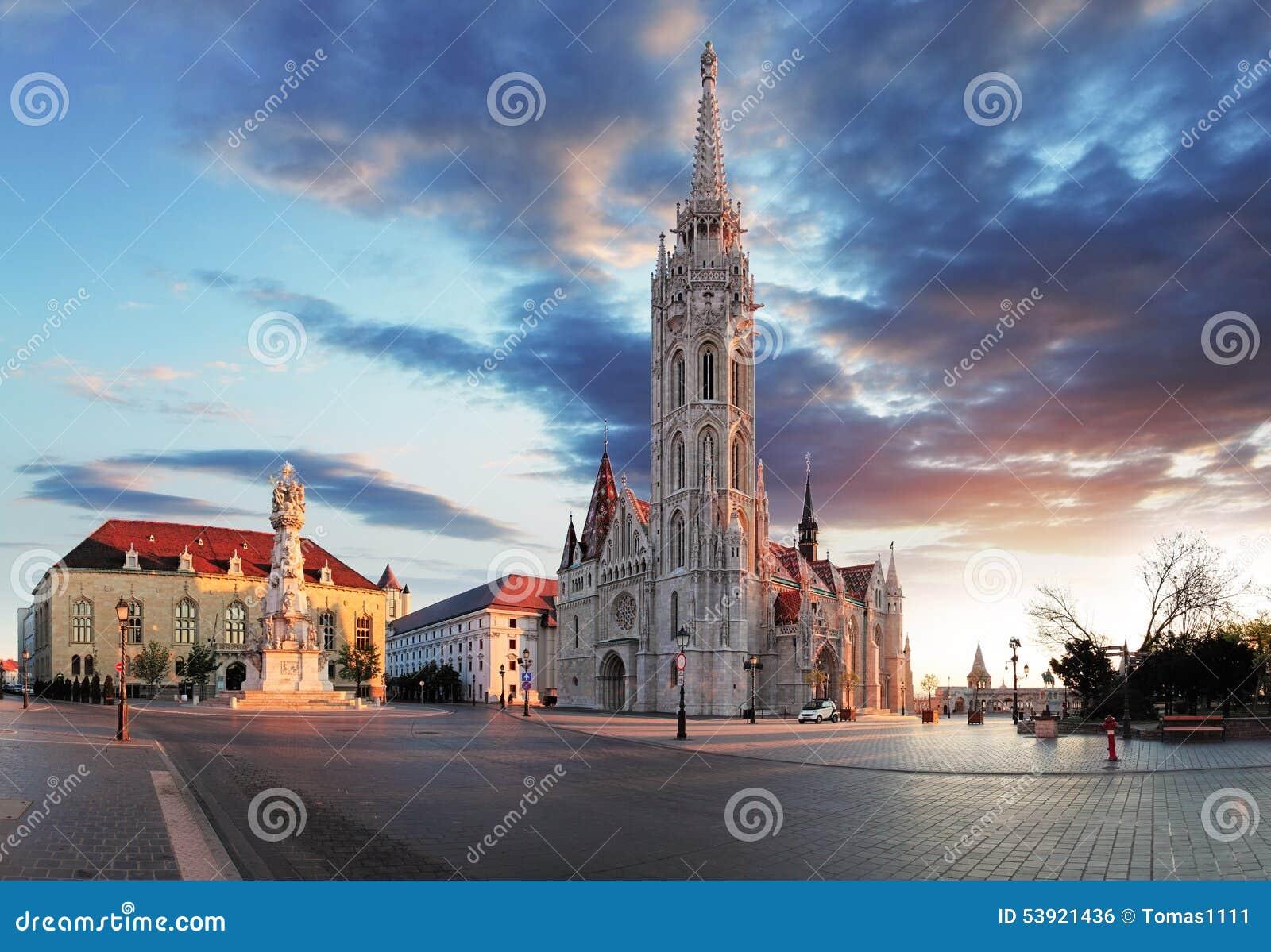 Τετράγωνο εκκλησιών της Βουδαπέστης - του Mathias, Ουγγαρία