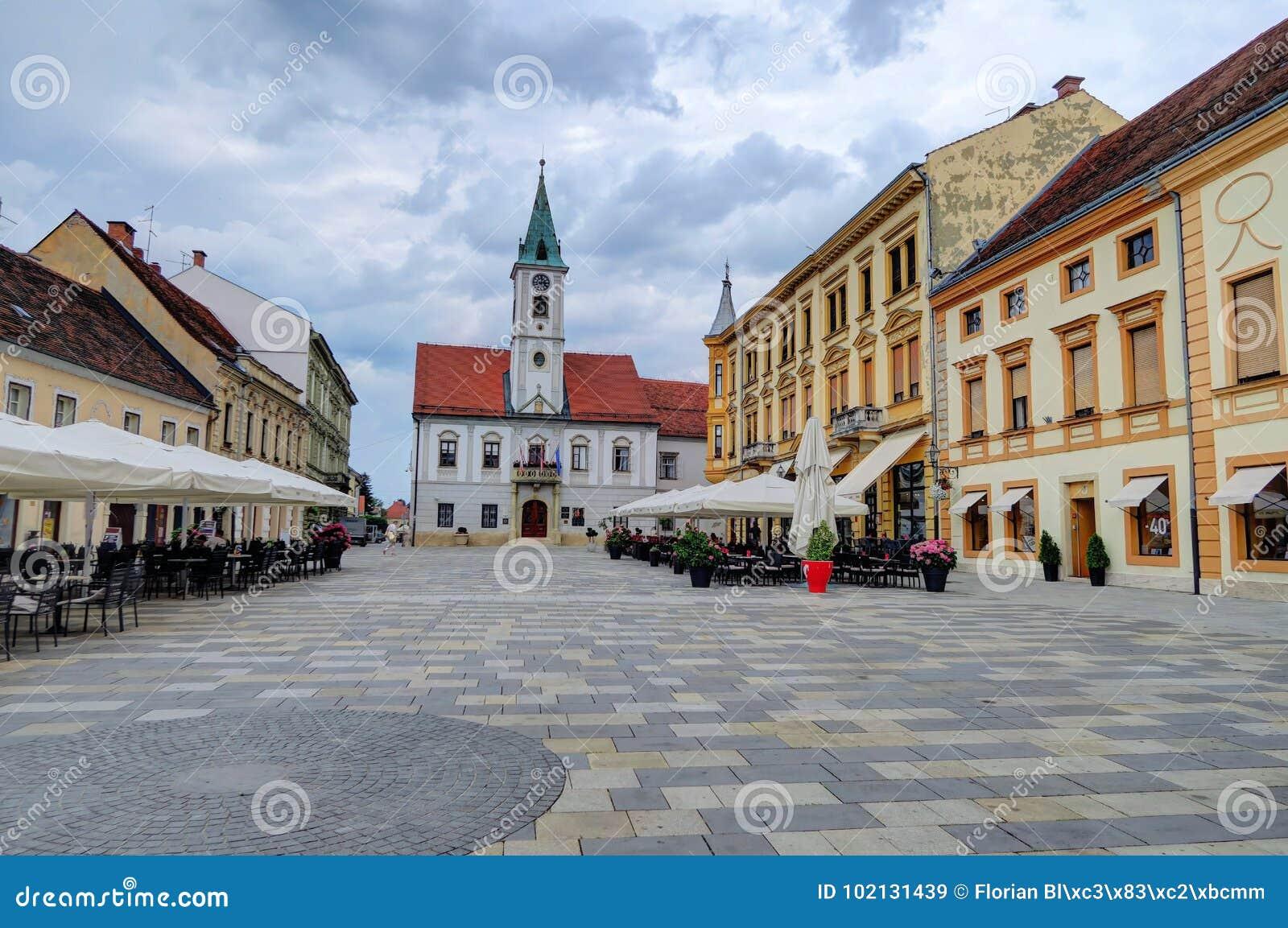 Τετράγωνο πόλεων Varazdin, Κροατία