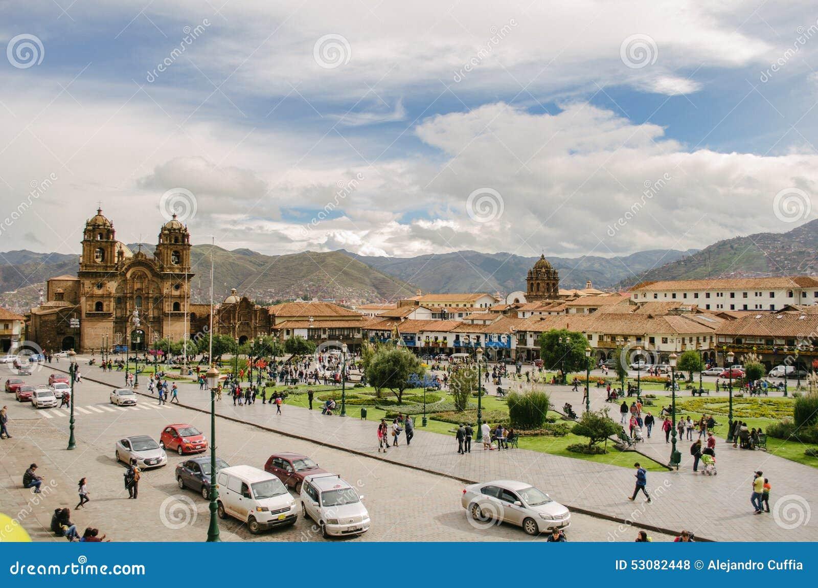 Τετράγωνο του πολεμιστή, Cusco
