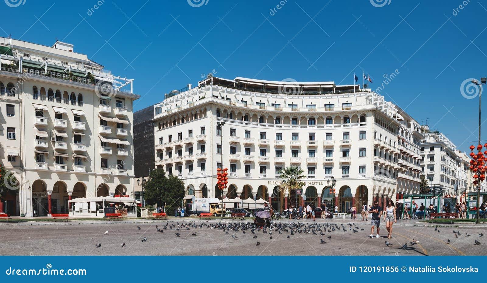 Τετράγωνο Aristotelous σε Θεσσαλονίκη, Ελλάδα