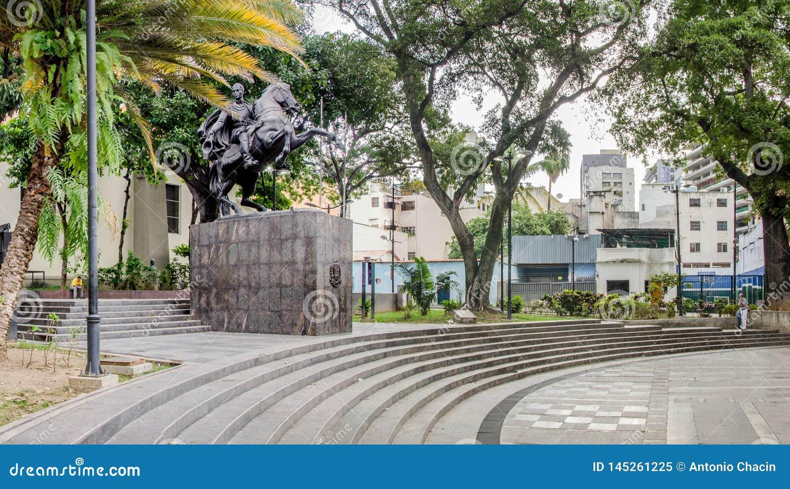 Τετράγωνο bolívar σε Chacao, Καράκας, Βενεζουέλα