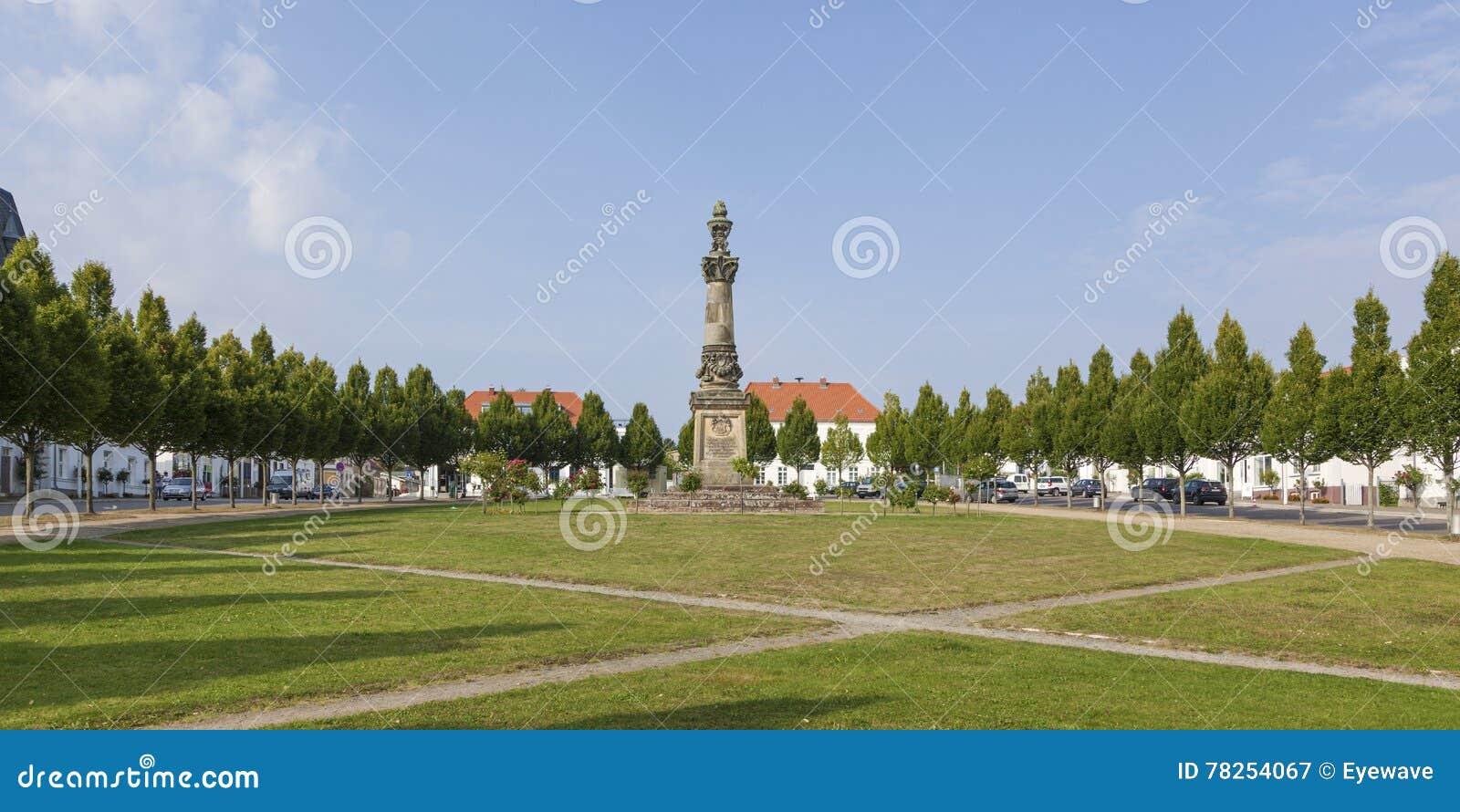 Τετράγωνο Markt στο πανόραμα Putbus