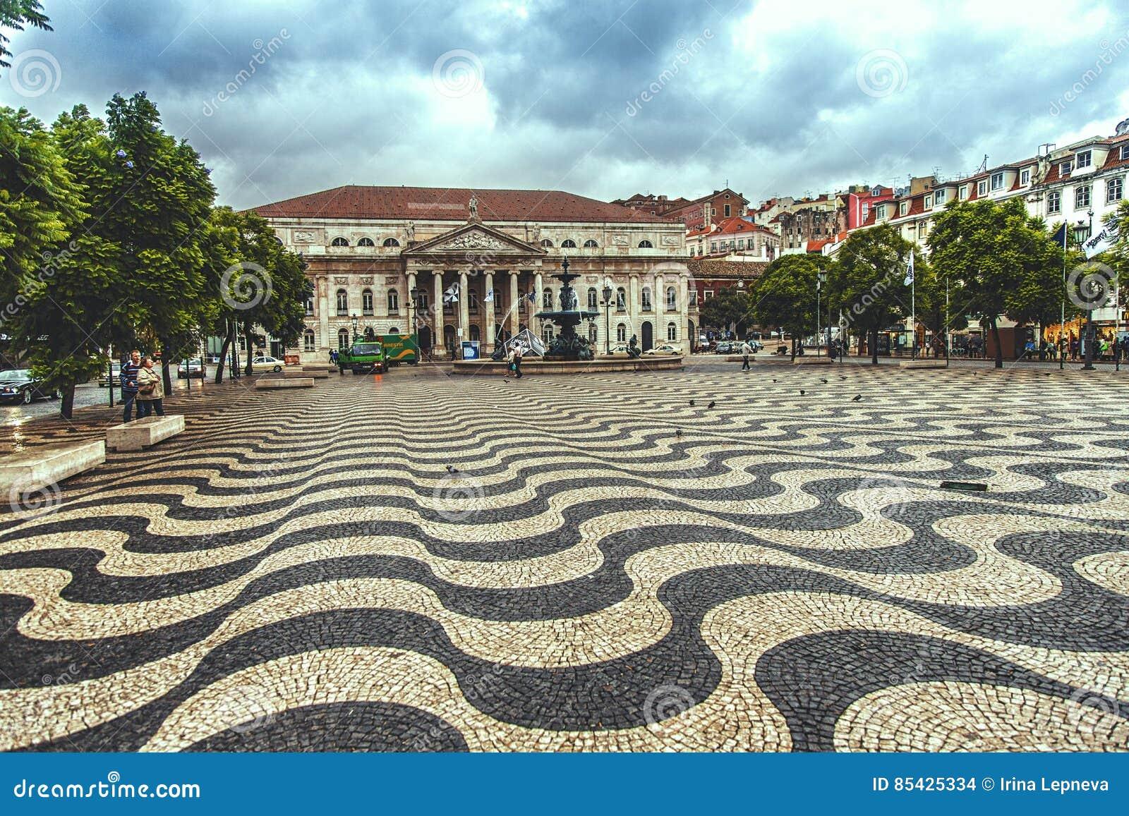 Τετράγωνο Rossio στη Λισσαβώνα