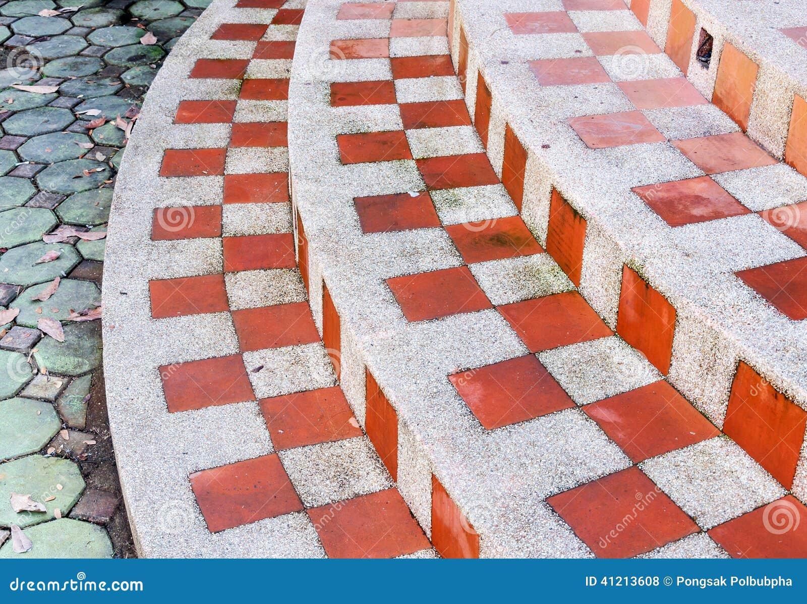 Τετραγωνικό σχέδιο σκαλών