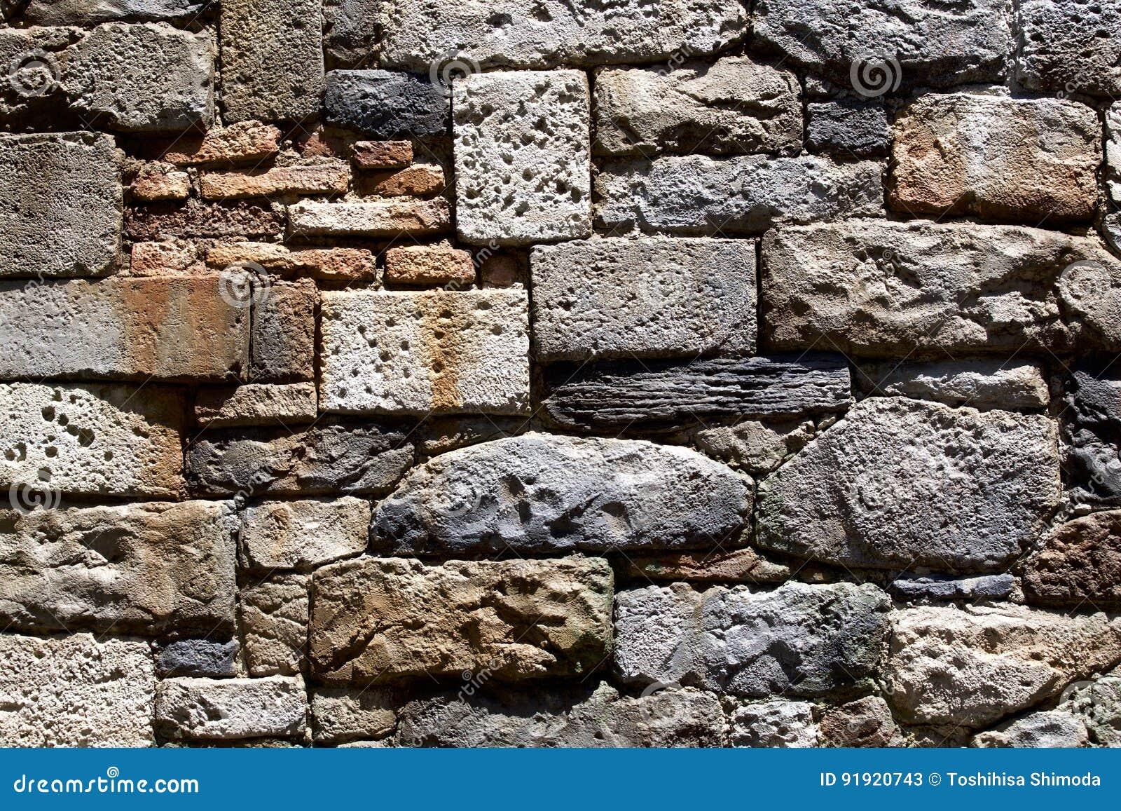 τεχνητός μπλε ελαφρύς τοίχος πετρών