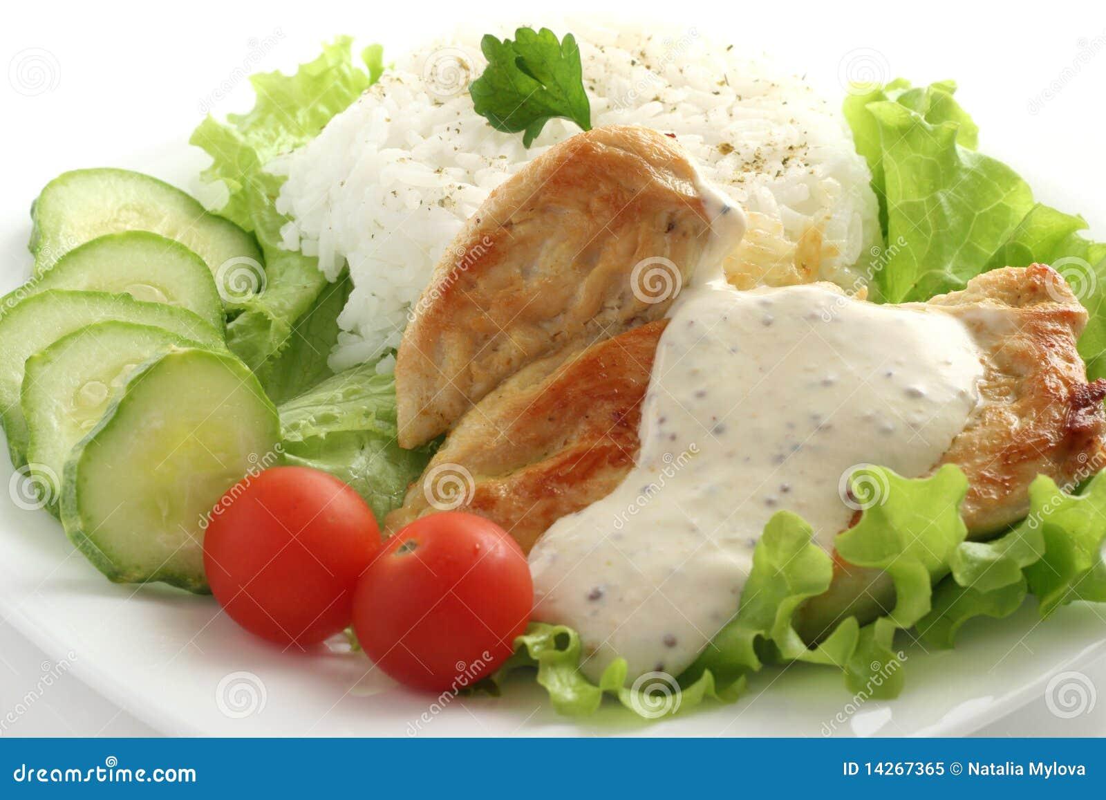 τηγανισμένη κοτόπουλο σά&lam