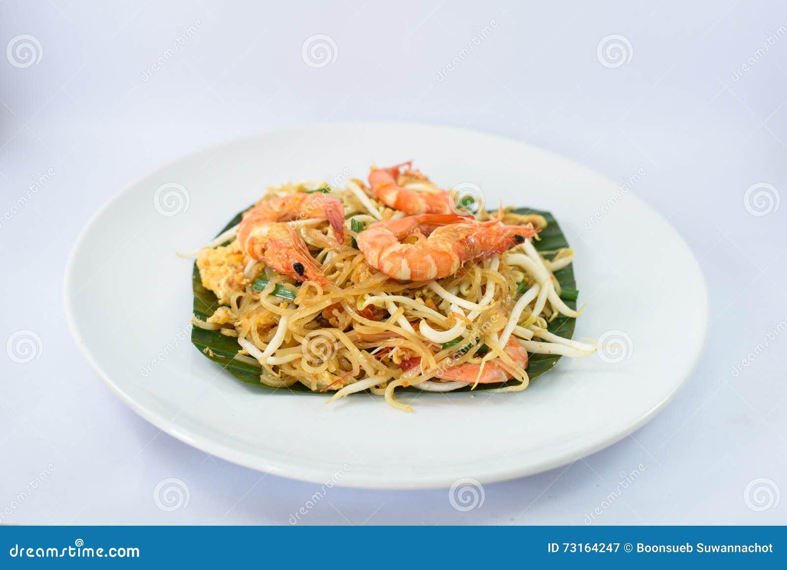 Τηγανισμένο νουντλς με τα θαλασσινά (γαρίδες)