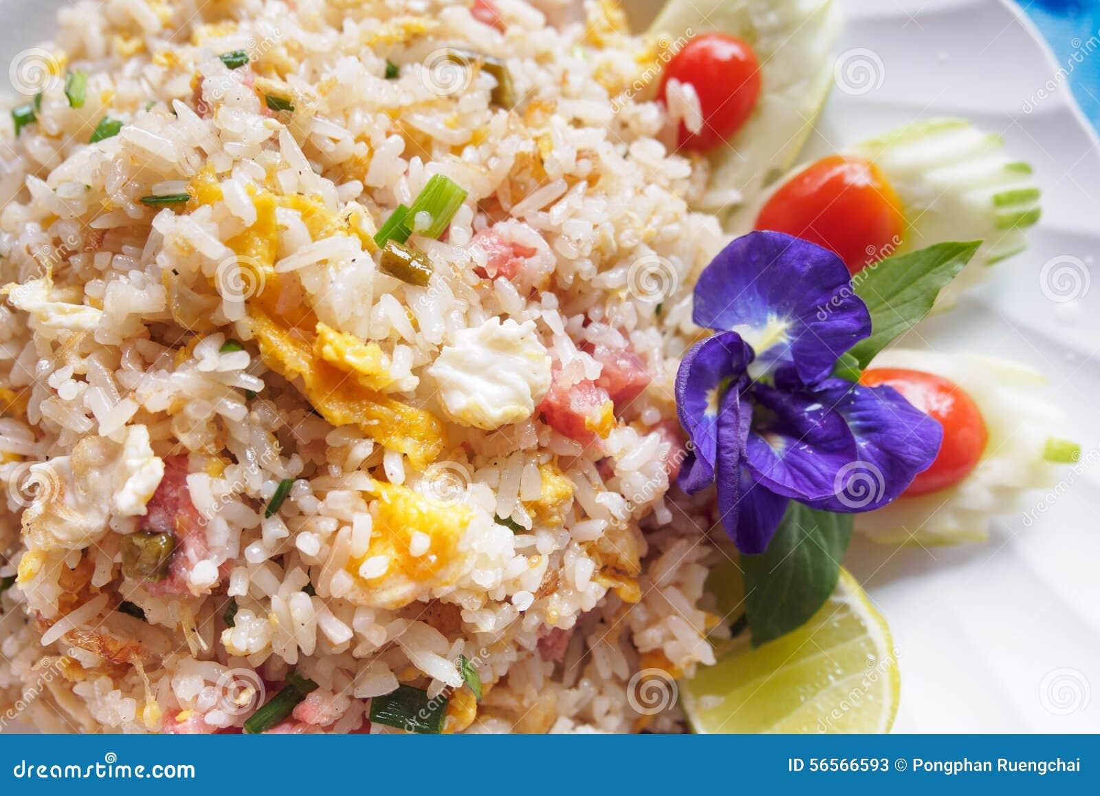 Download τηγανισμένο ρύζι χοιρινού &kapp Στοκ Εικόνα - εικόνα από chopsticks, κουζίνα: 56566593