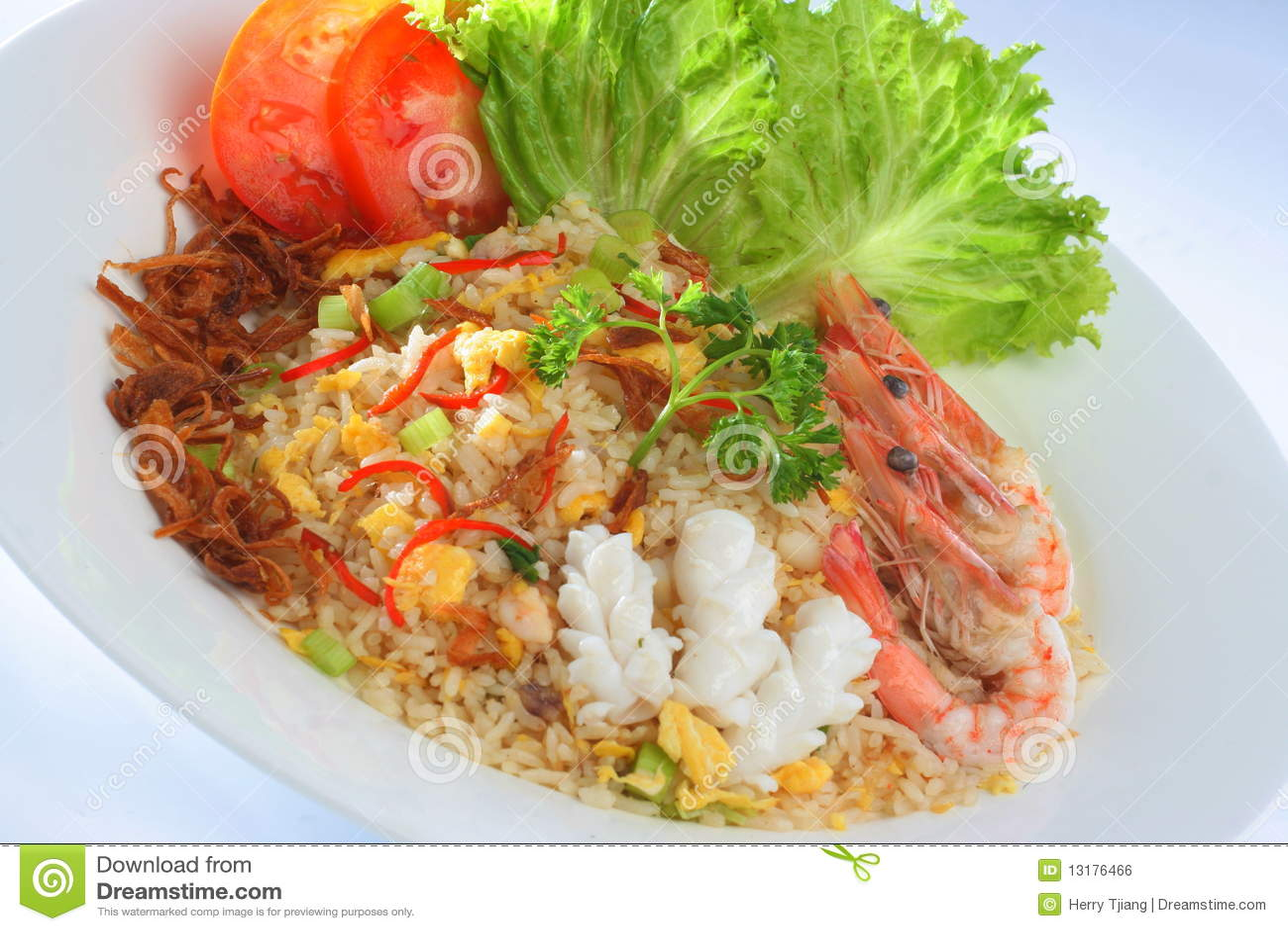 τηγανισμένο goreng ρύζι nasi