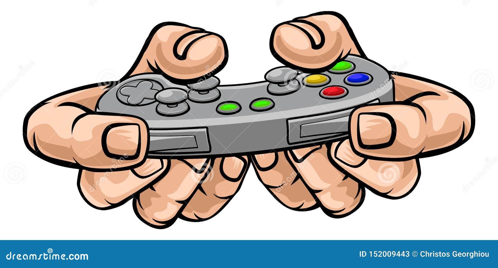 Τηλεοπτικός ελεγκτής παιχνιδιών τυχερού παιχνιδιού εκμετάλλευσης χεριών Gamer